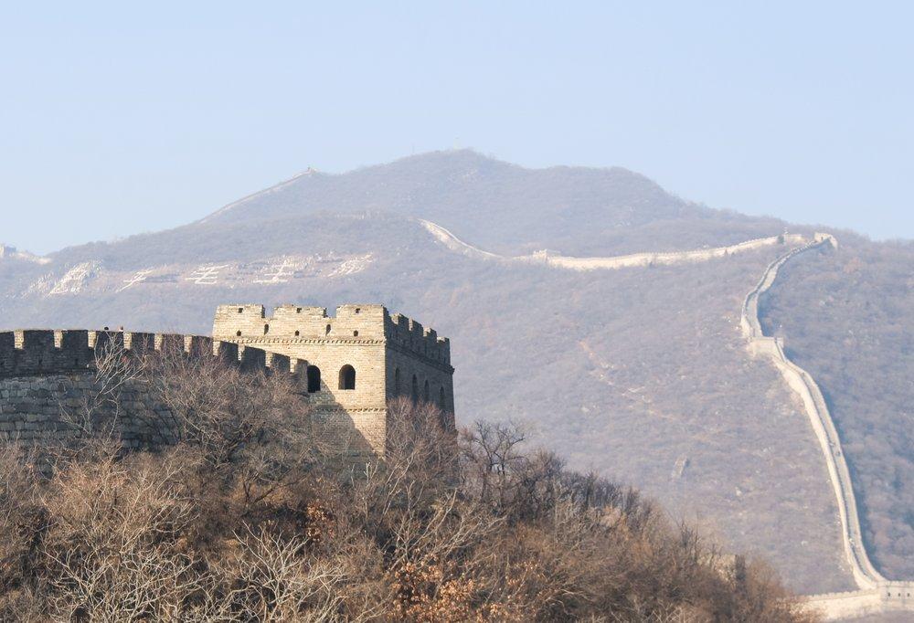 THE GREAT WALL OF CHINA - MUTIANYU
