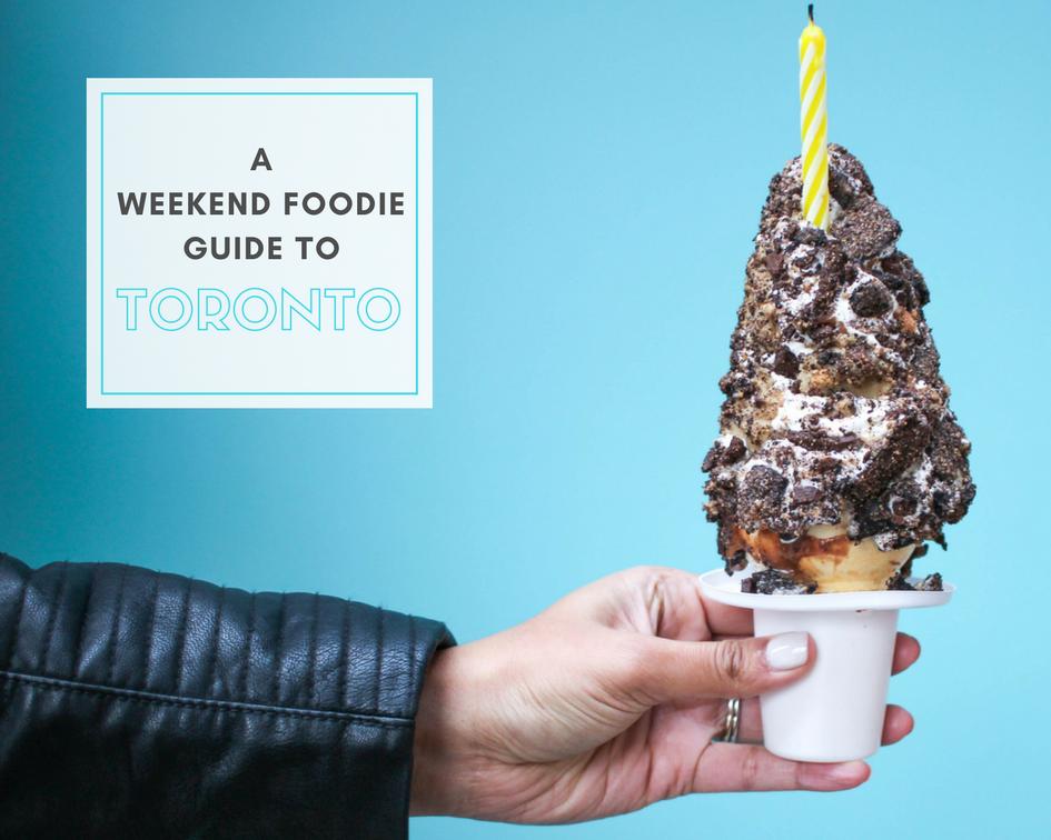 Toronto Foodie Guide