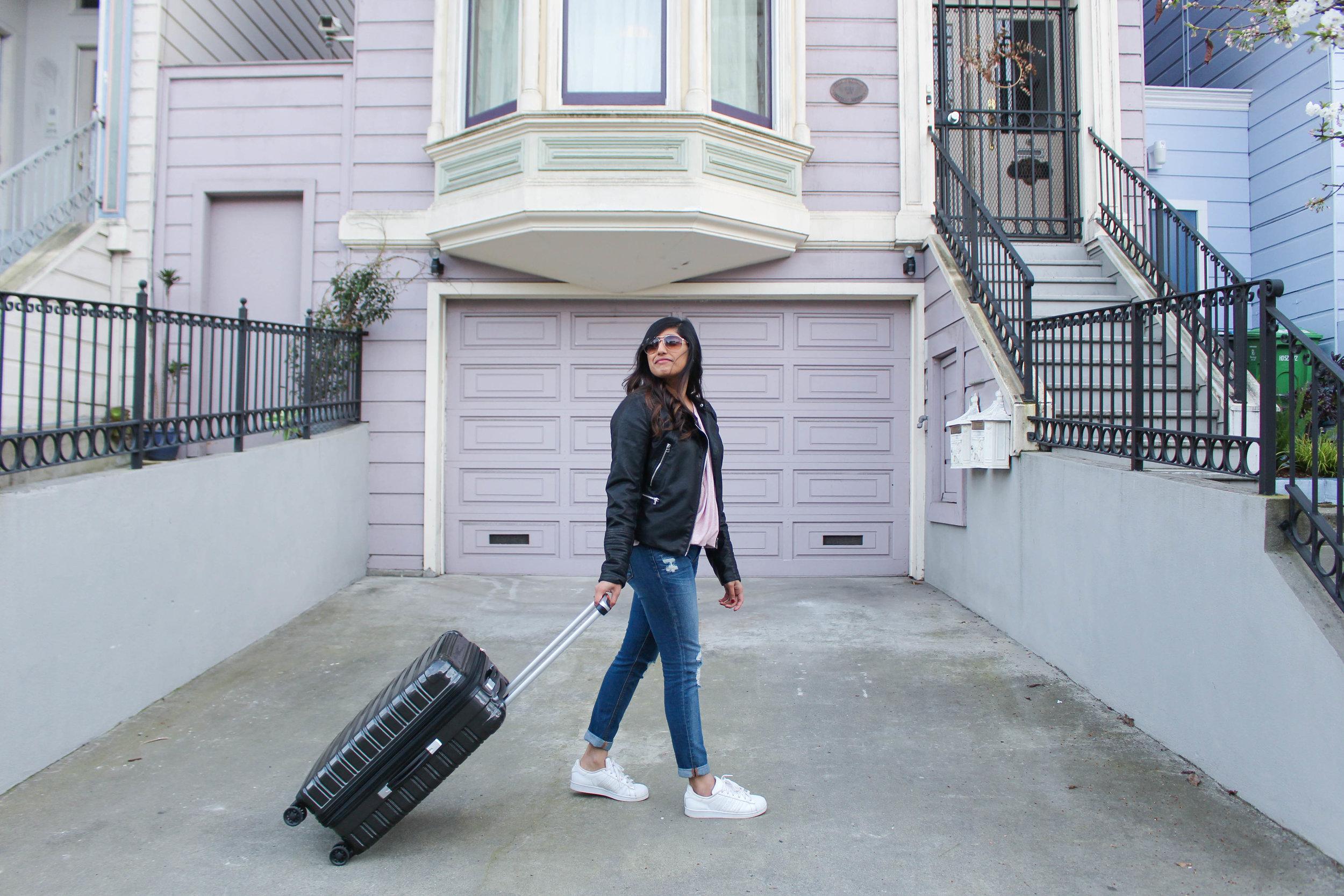 iFLY Luggage - Sugar & Stamps - San Francisco, California