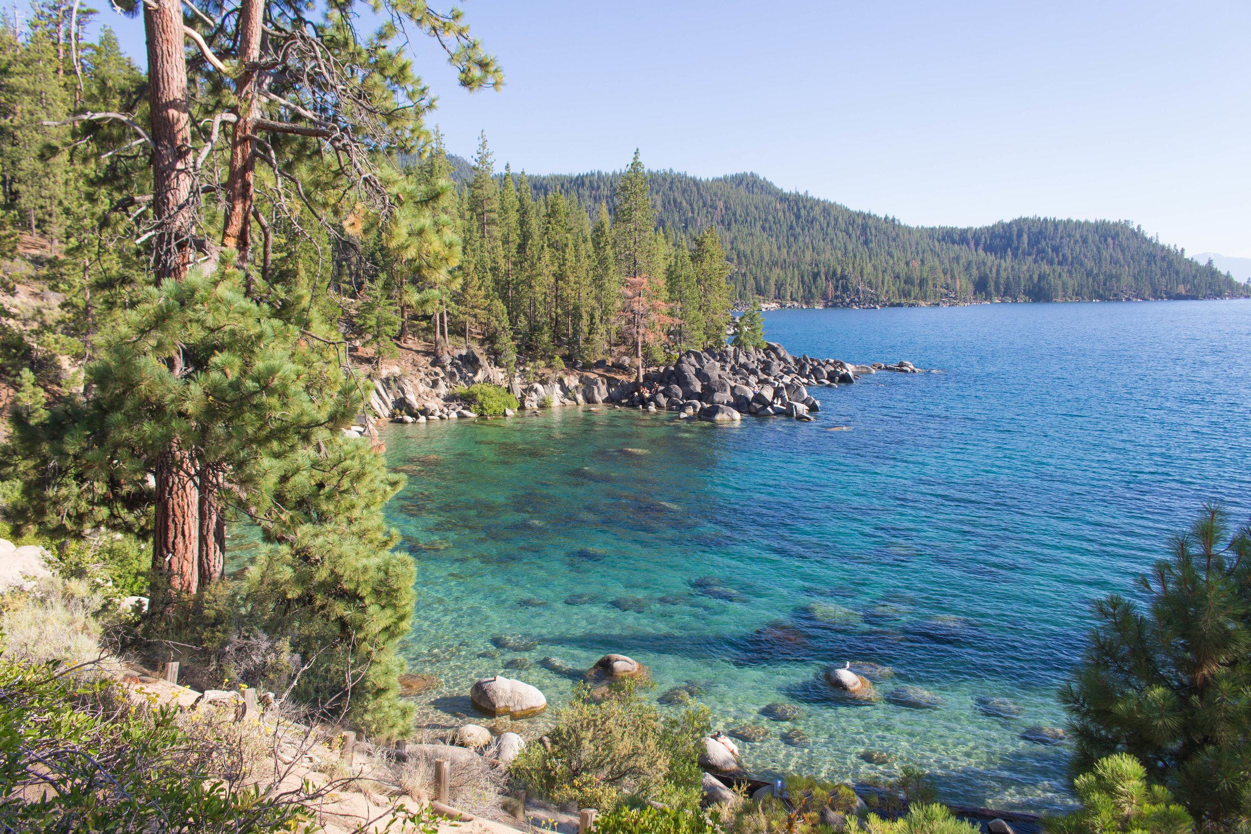 secret SUMMER TRAVEL GUIDE TO SOUTH LAKE TAhoe - secret cove