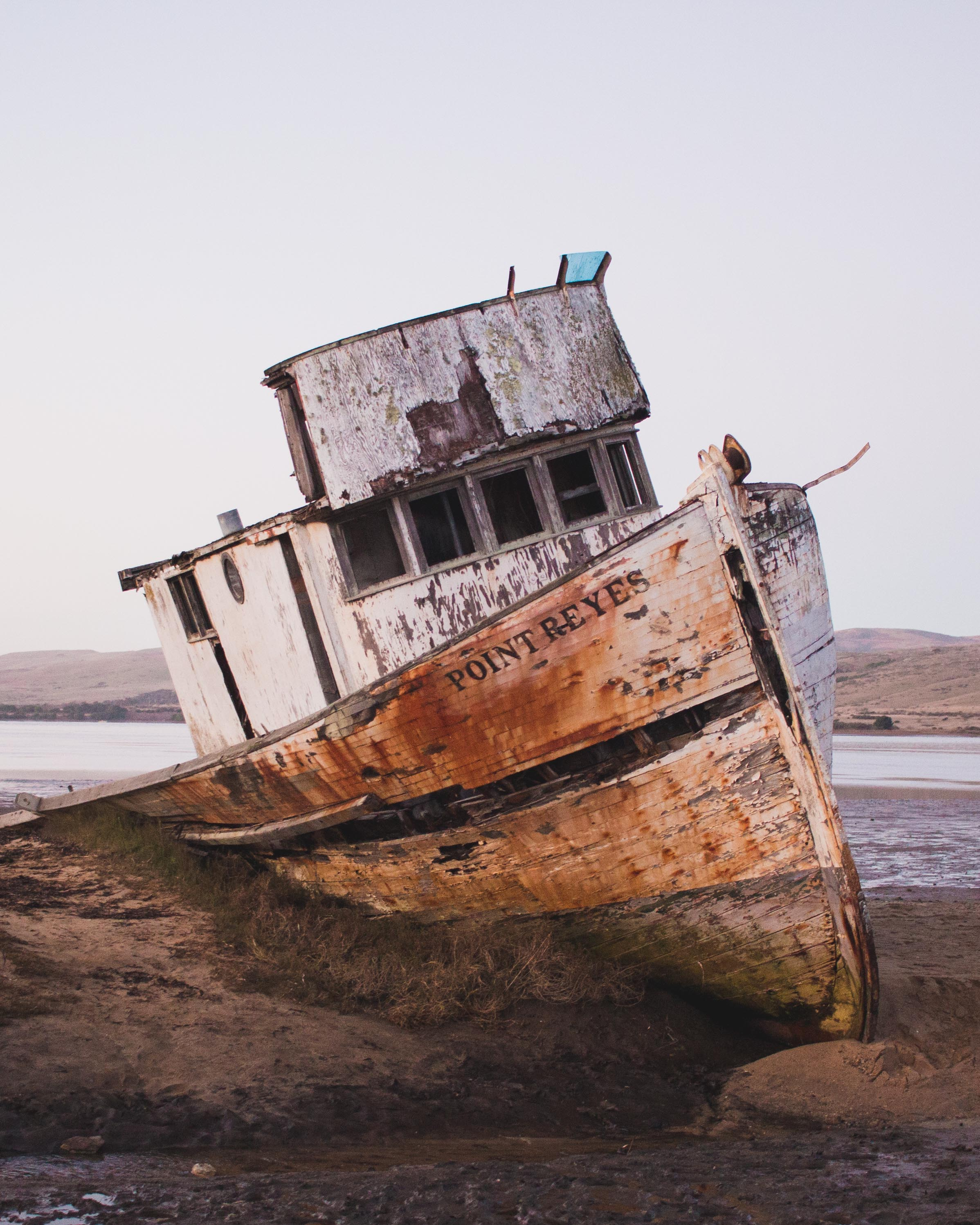 Point Reyes shipwreck - inverness, california