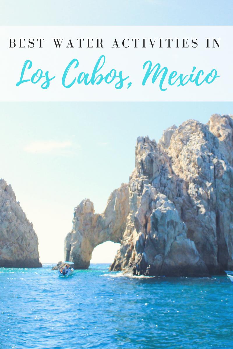 Best Water Activities in Los Cabos, Mexico
