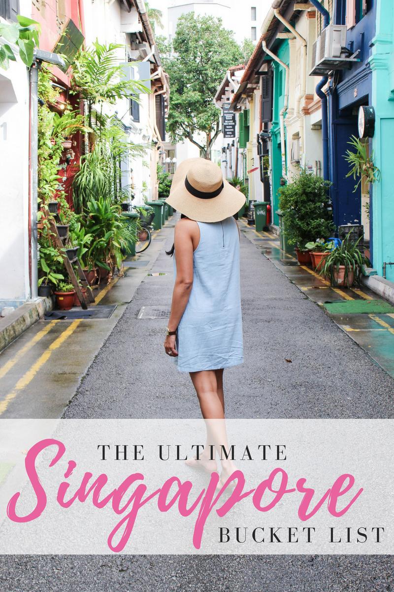 Ultimate Singapore Bucket List
