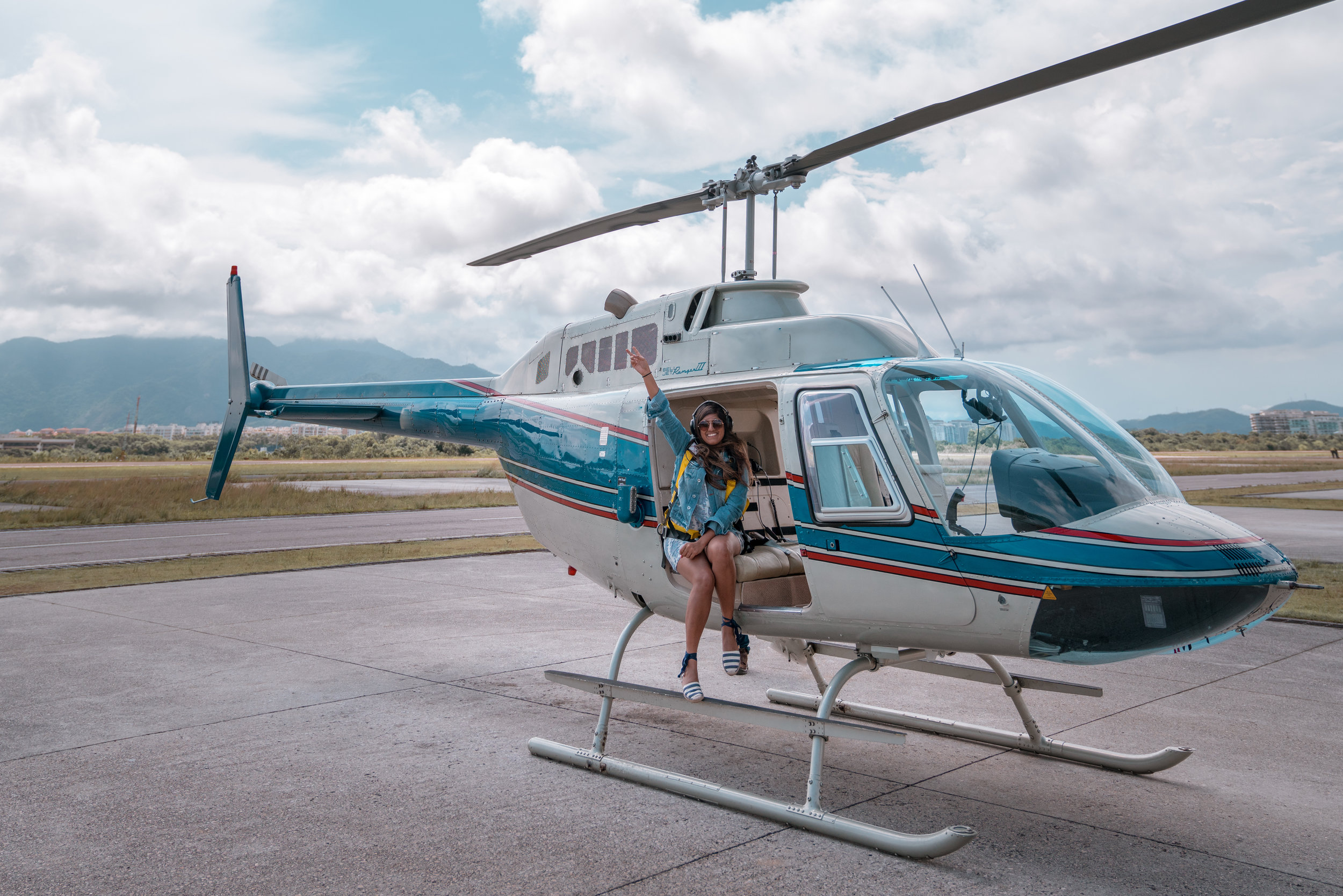 DOORS-OFF HELICOPTER PHOTO EXPERIENCE IN RIO DE JANEIRO, BRAZIL WITH VERTICAL RIO