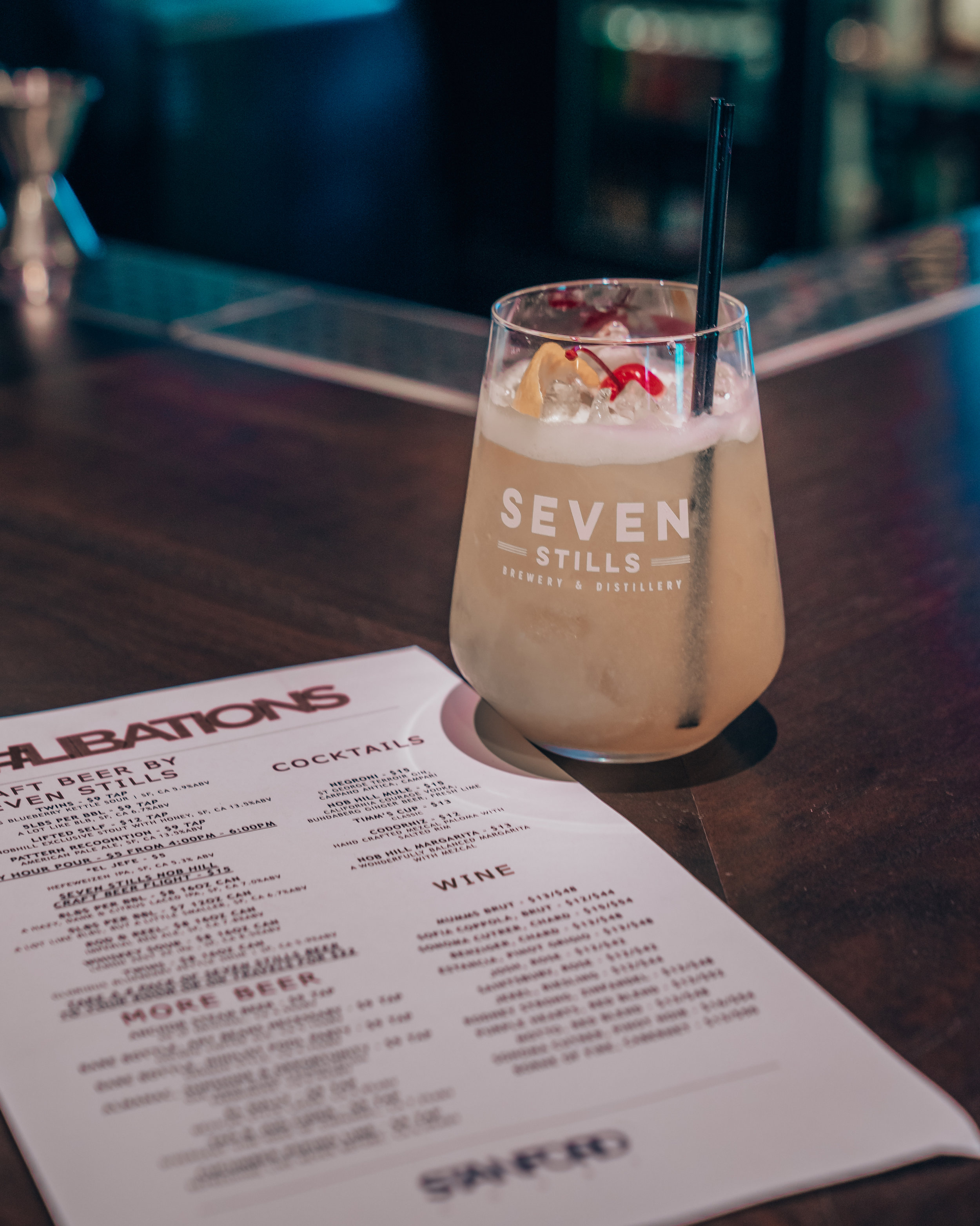 Seven Stills Bar, Stanford Court Hotel, Nob Hill