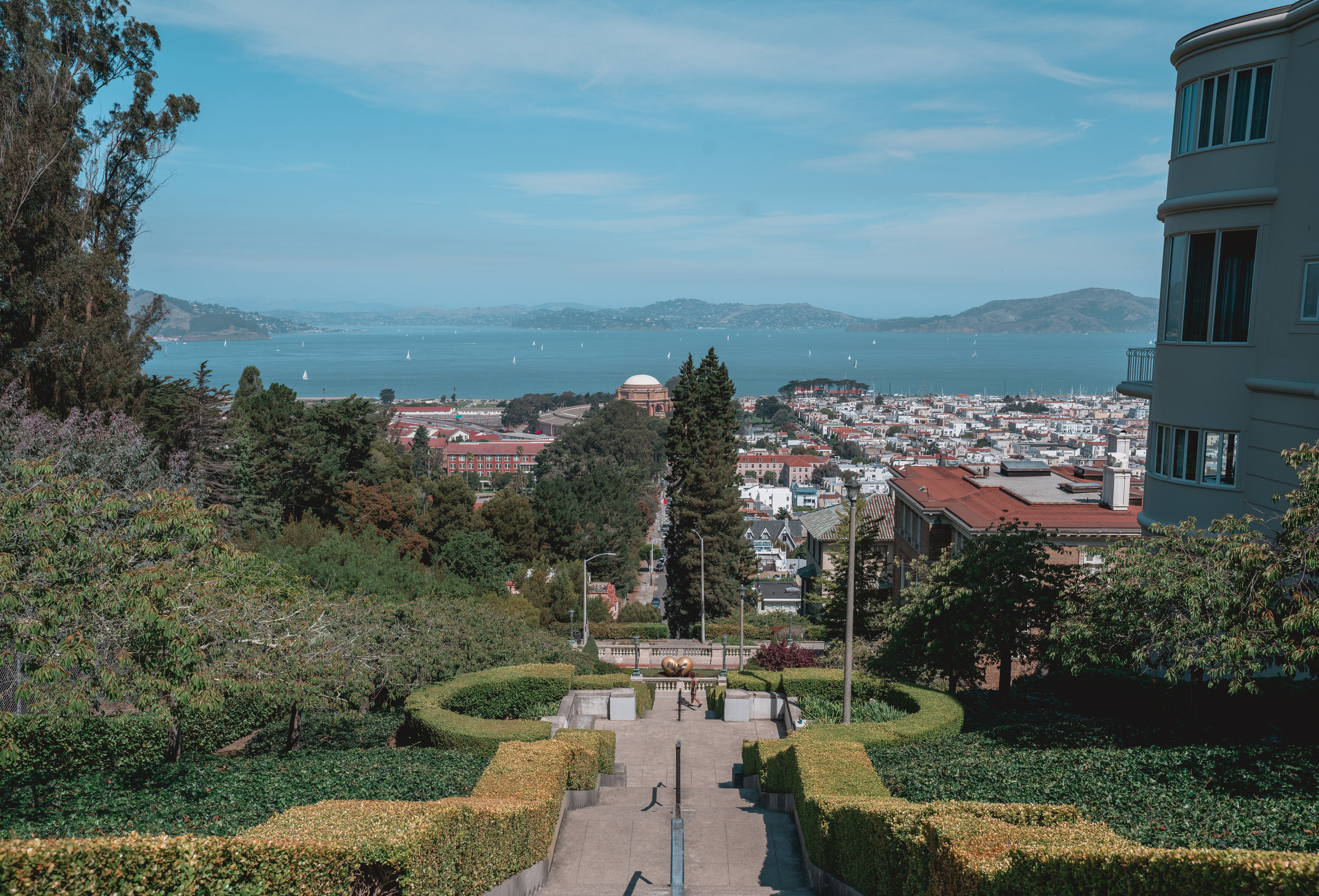 Lyon Street Steps, San Francisco, California