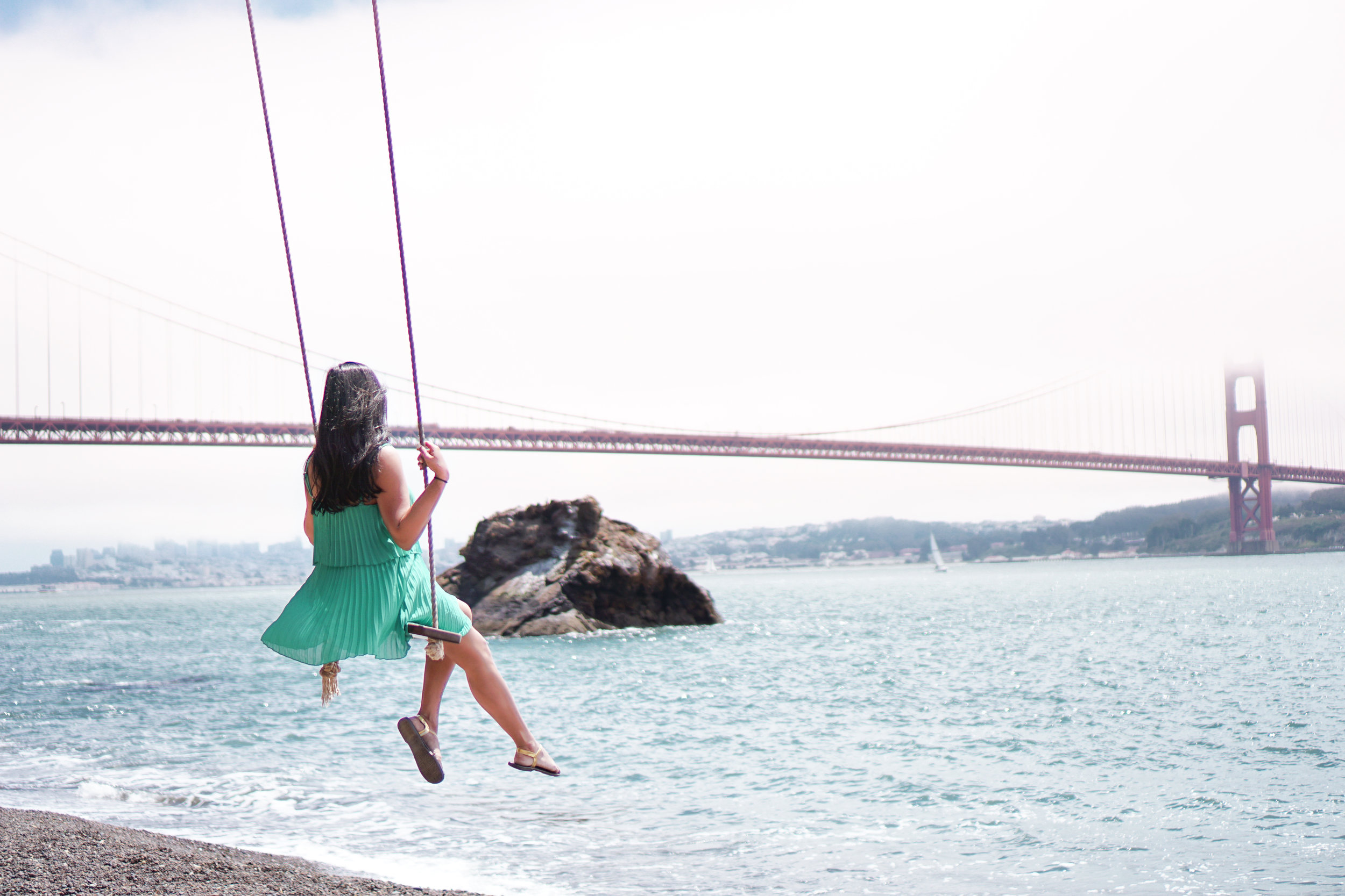 Kirby Cove Swing, San Francisco, California