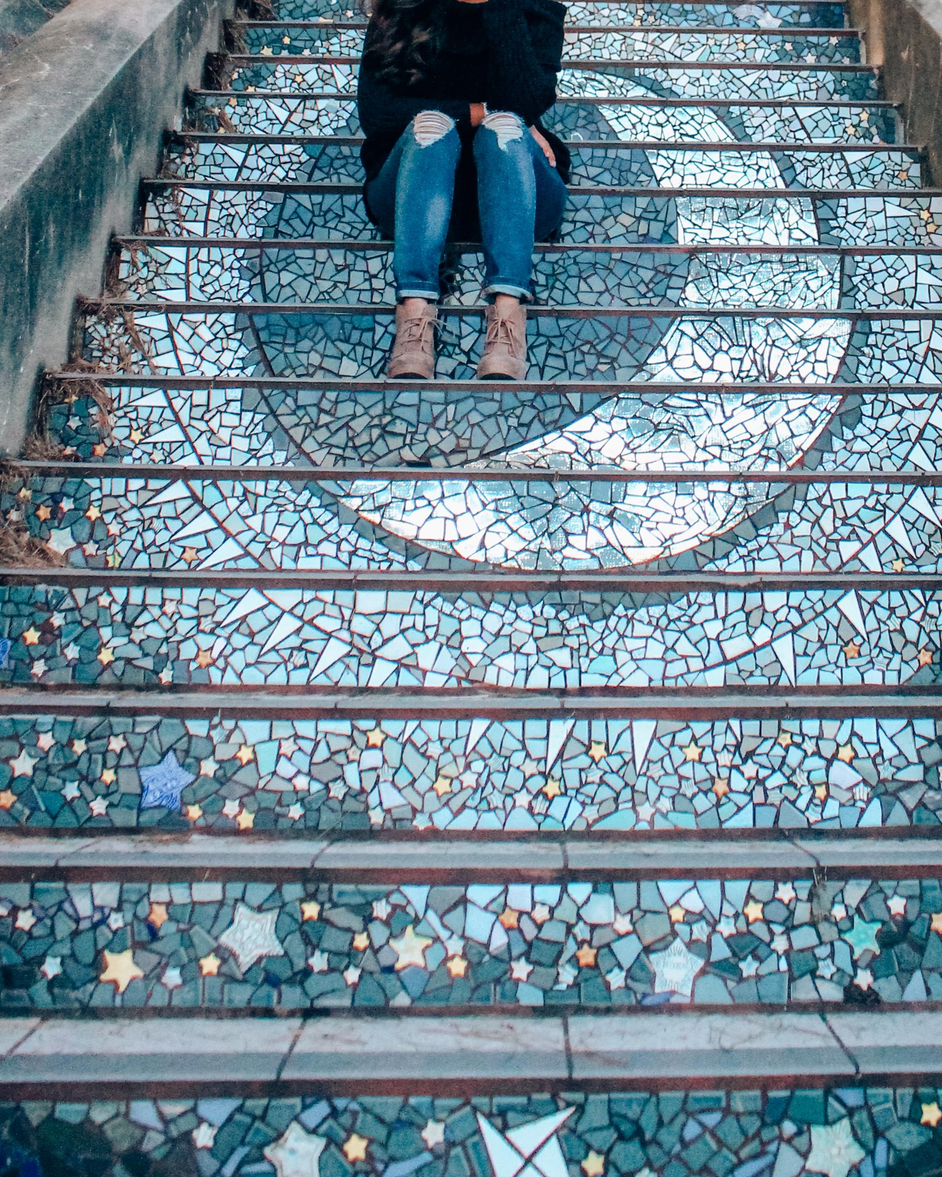 16th Avenue Tiled Steps, San Francisco, California