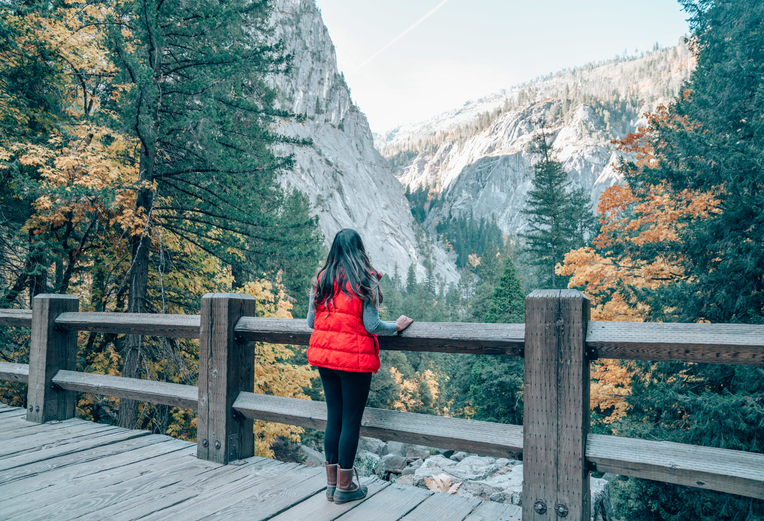 Yosemite National Park in the Fall