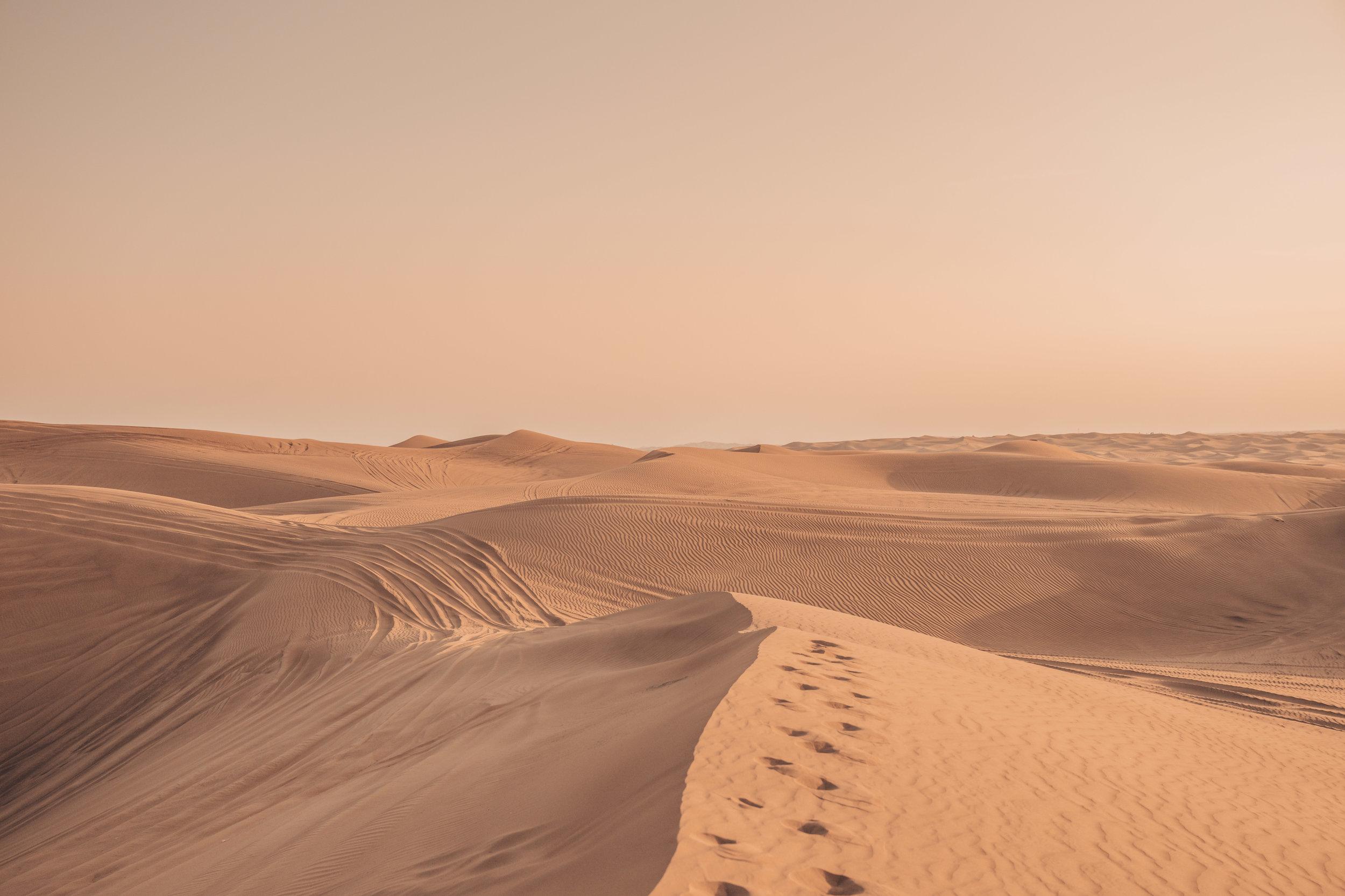 Lahbab Desert, Dubai, United Arab Emirates
