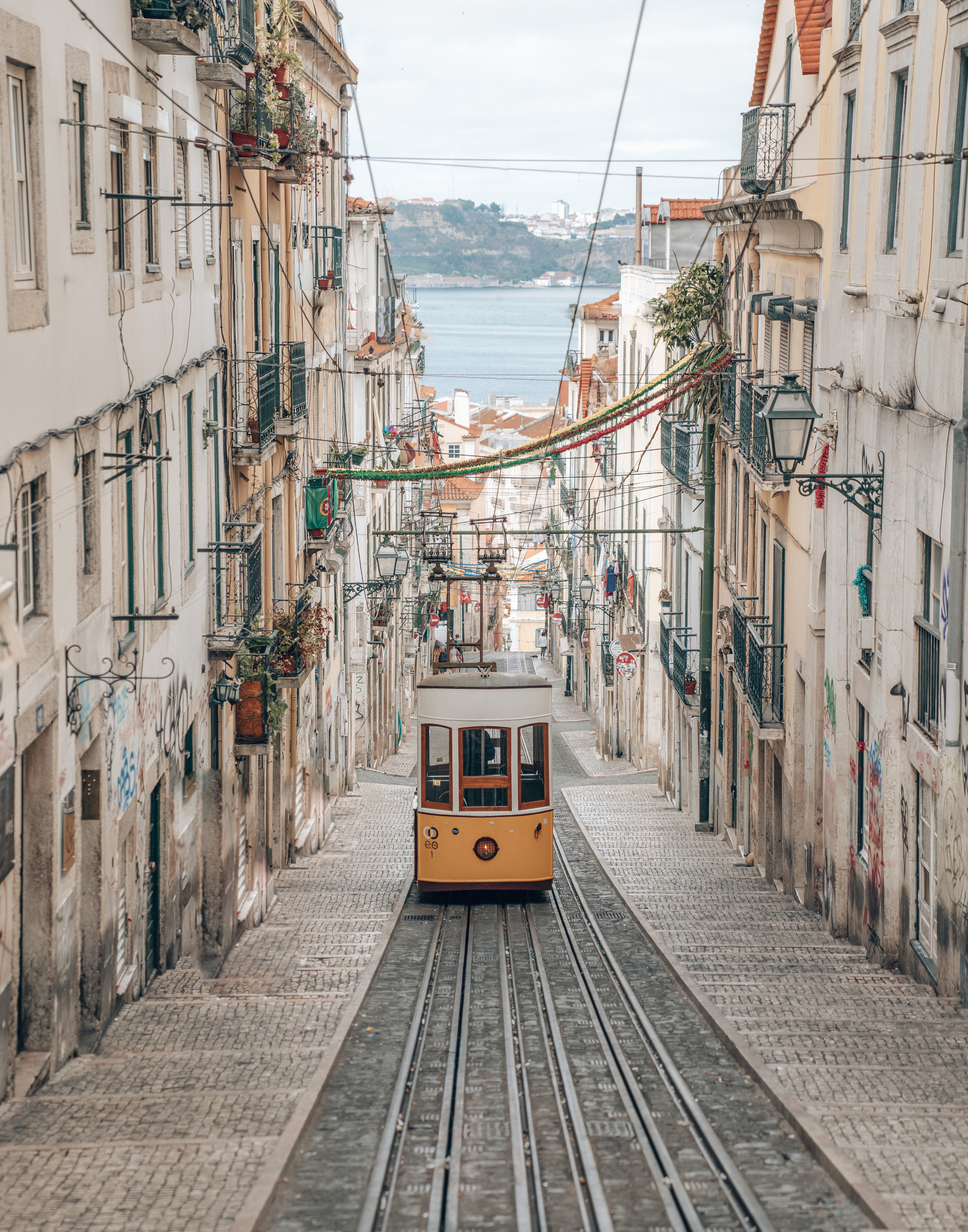 Ride Tram 28 in Lisbon Portugal