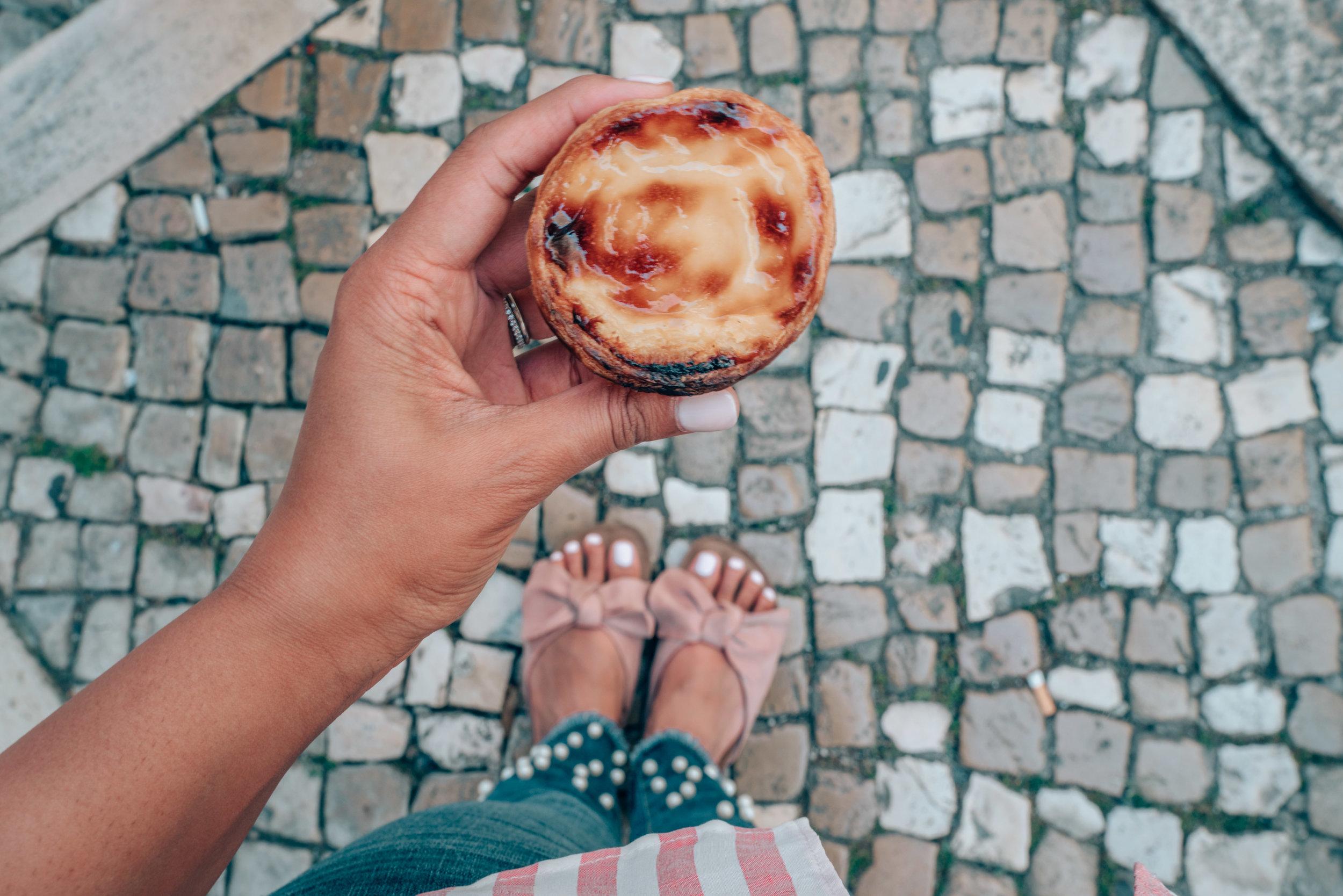 Pasteis de Nata Egg Tarts Manteigaria Lisbon Portugal