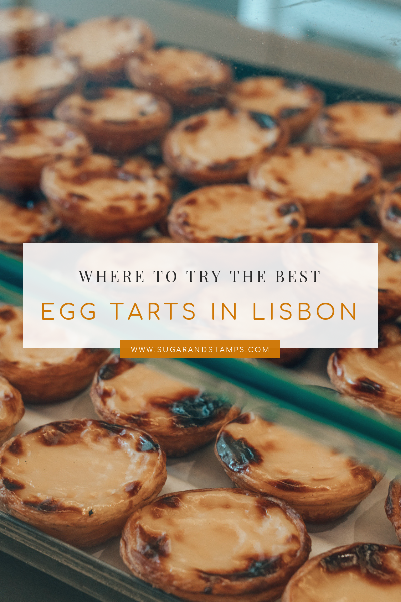 Where to Find the Best Egg Tarts in Lisbon