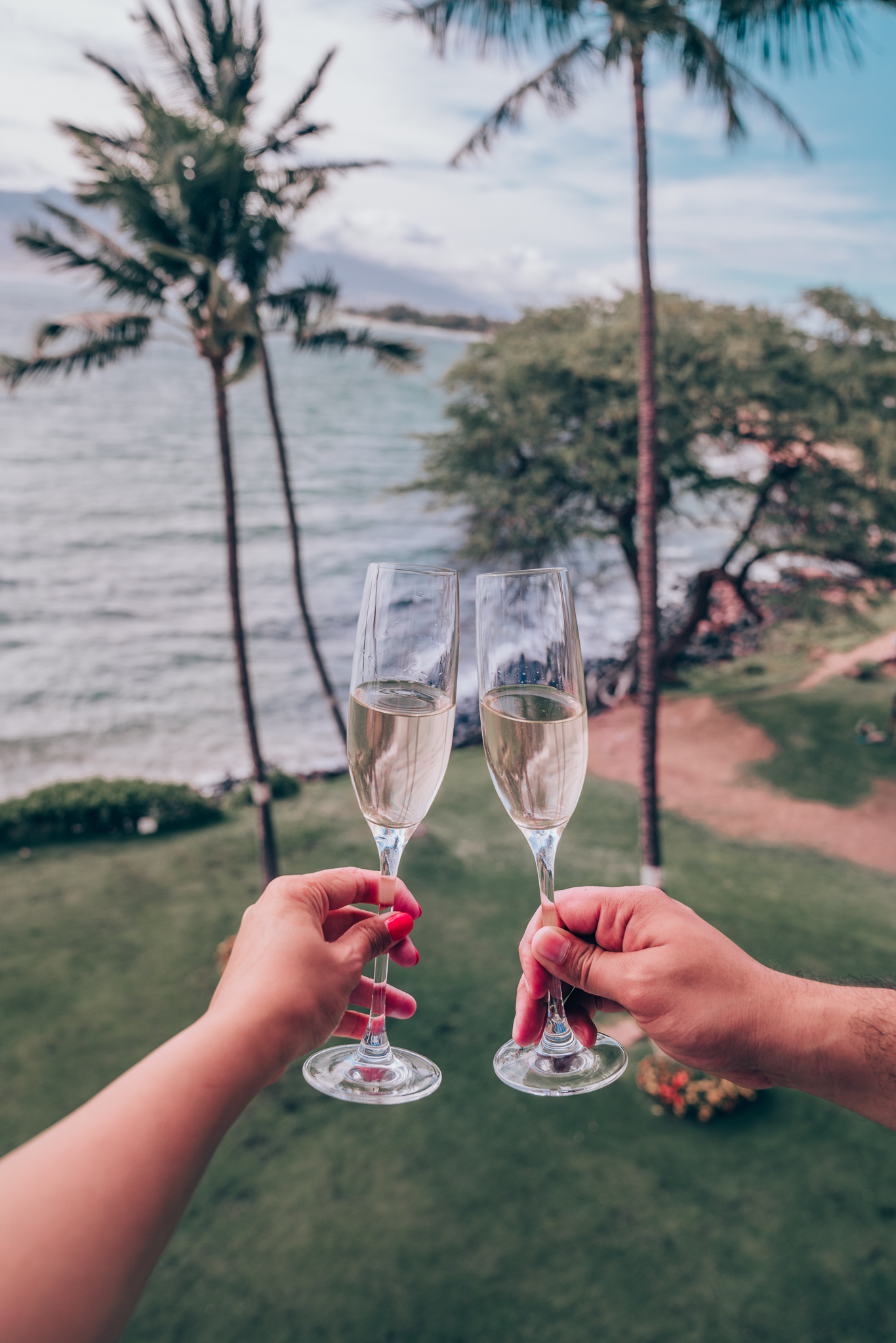 Cheers to an Incredible View at Maui Beachside
