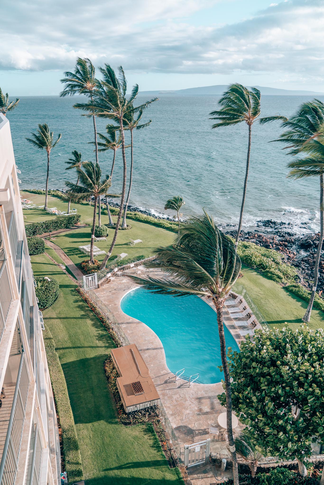 Pool Views at Maui Beachside