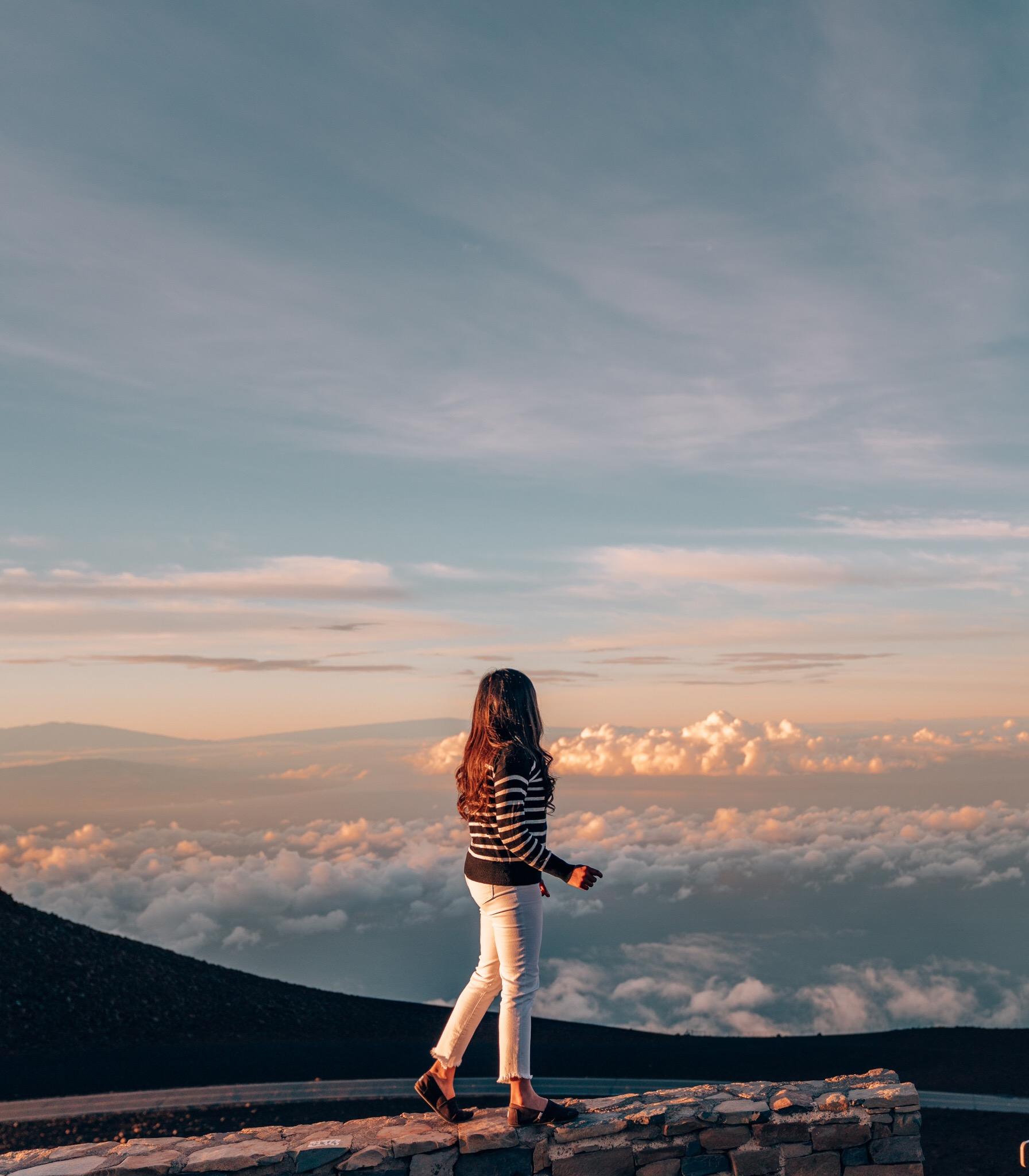 Sunrise at Mt Haleakala