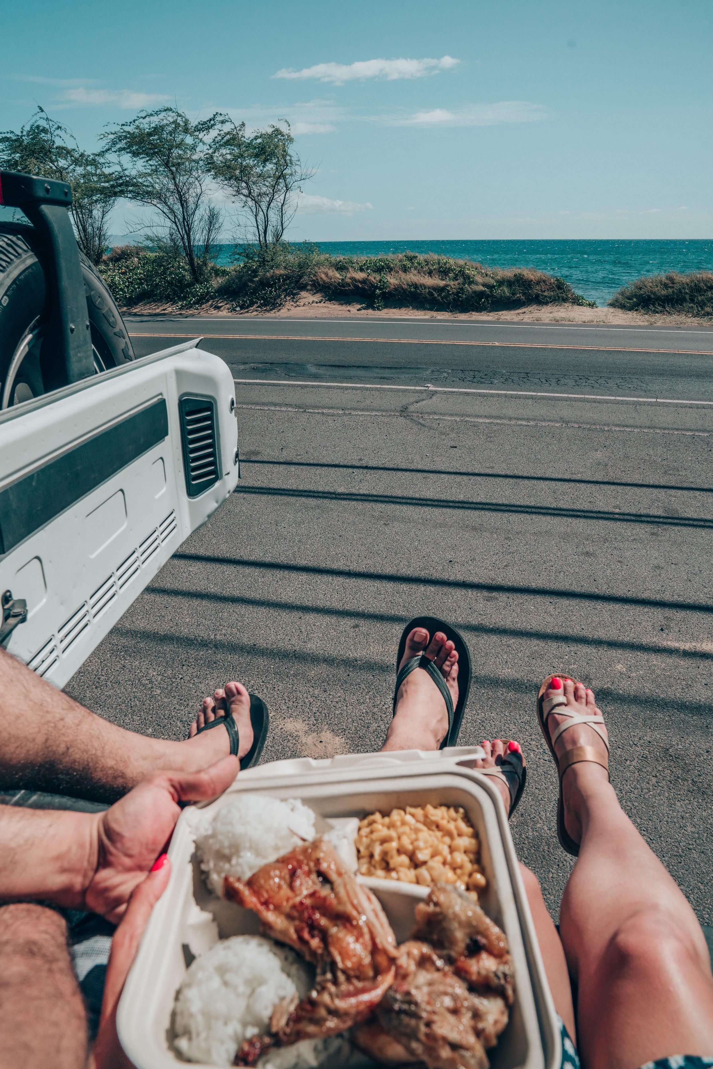 Roadside Eats at Huli Huli Chicken