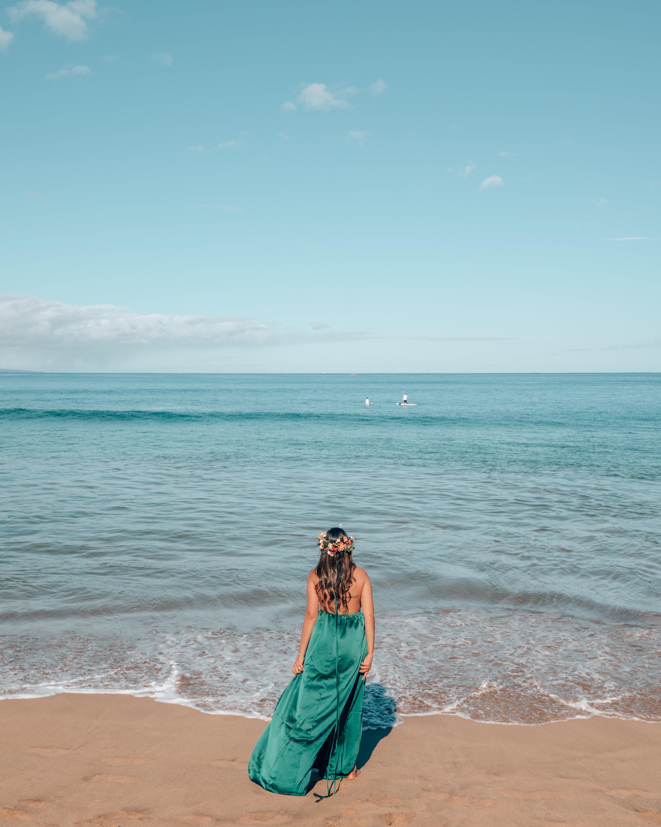Fun on the Beach - Maui, Hawaii