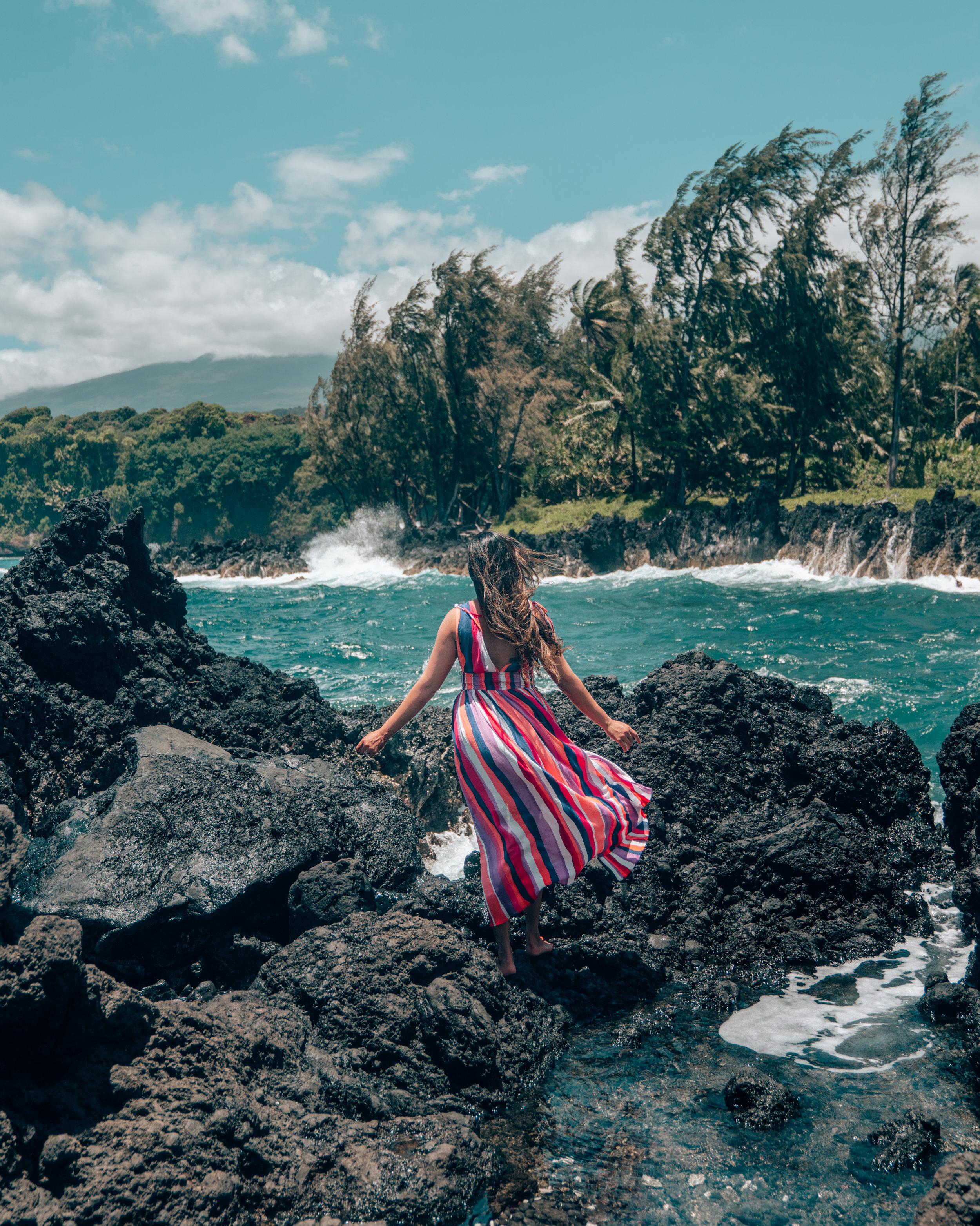 Ke'anae Peninsula on the Road to Hana - Maui, Hawaii