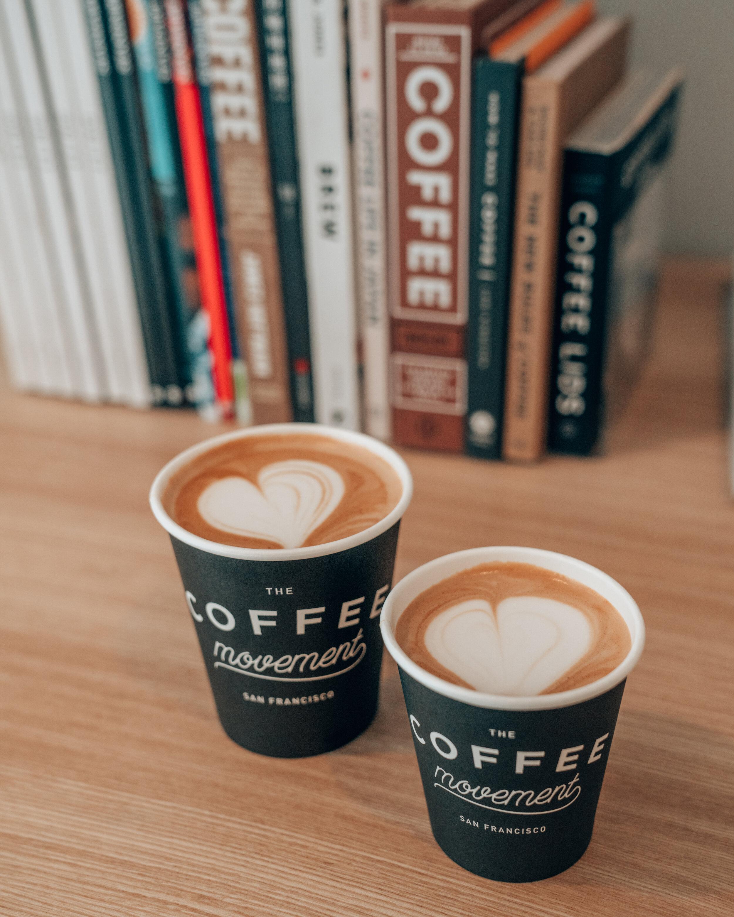 The Coffee Movement - San Francisco Coffee Shop