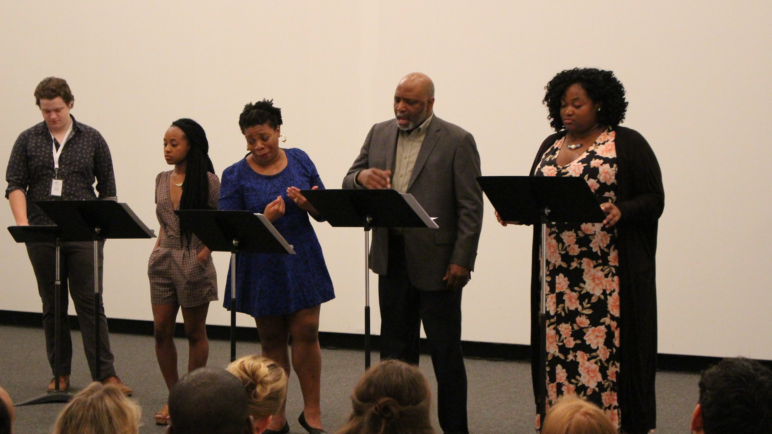 The Homecoming Queen (Workshop) - The Homecoming Queen by Ngozi Anyanwu was in residency at the New Harmony Project in the summer of 2017.  Dir: Candis JonesDramaturgy: Phaedra Scott