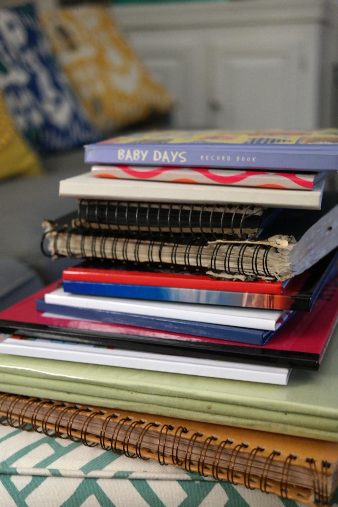 A few scrapbooks...