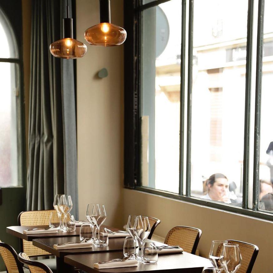 EELS restaurant / GAMBI lamp