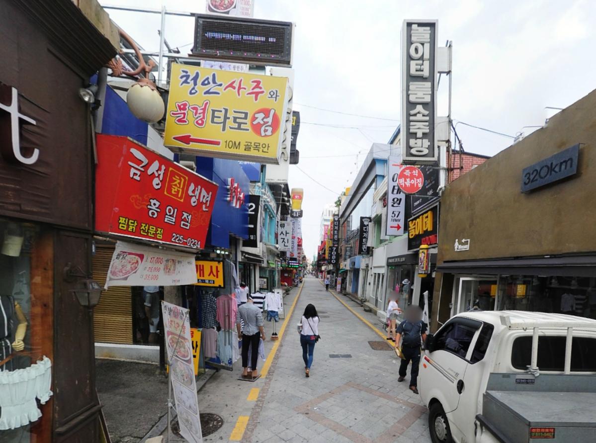 The location: Gwangju, Korea.광주광역시 동구 중앙로160번길 25-1