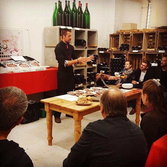 Panchaud vins + El Cortador = expérience sensorielle #jamboniberique #jamoniberico #suisse #vins #passion #gstaad #españa #espagne #experiencesensorielle