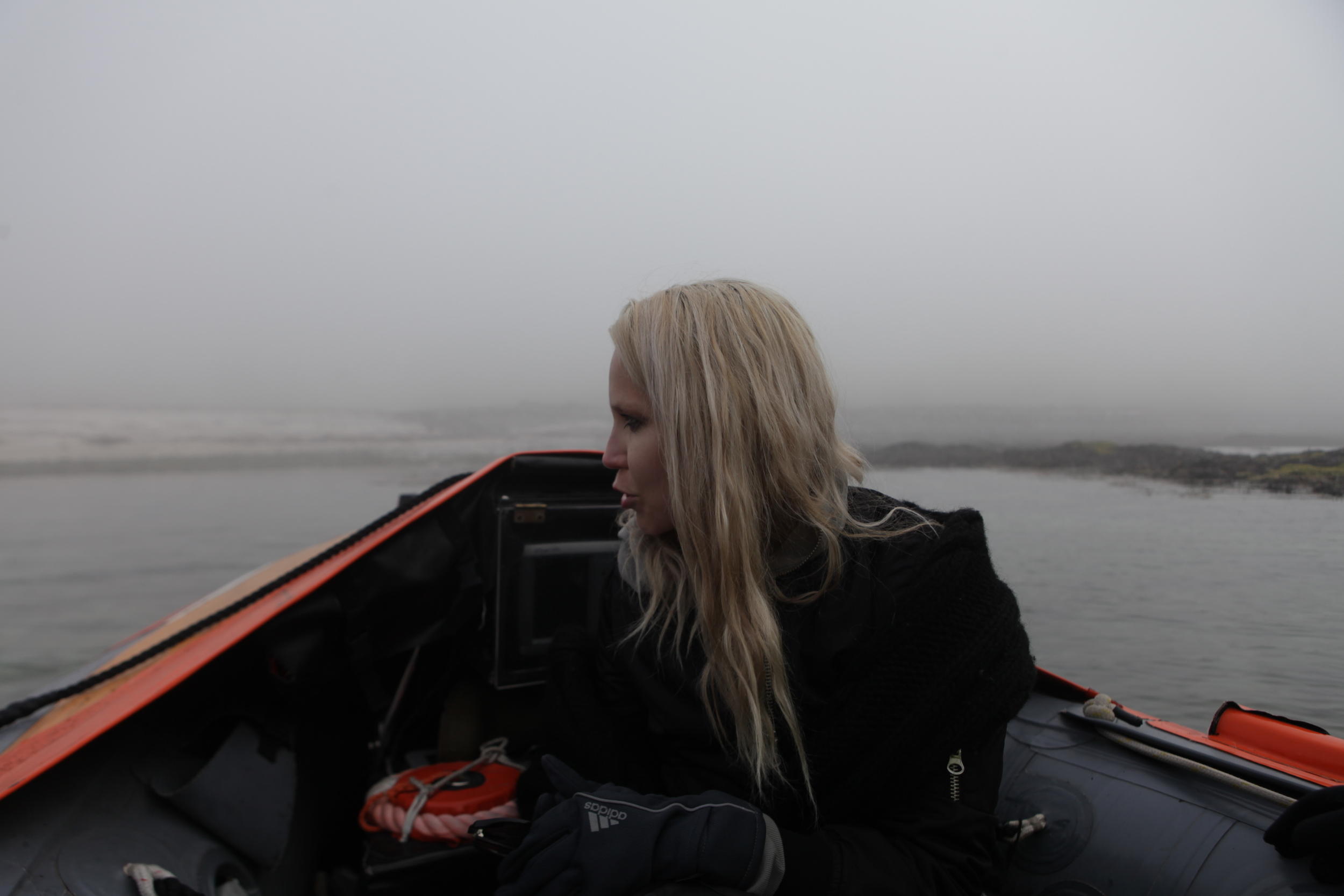 Approaching land in a mythical fog