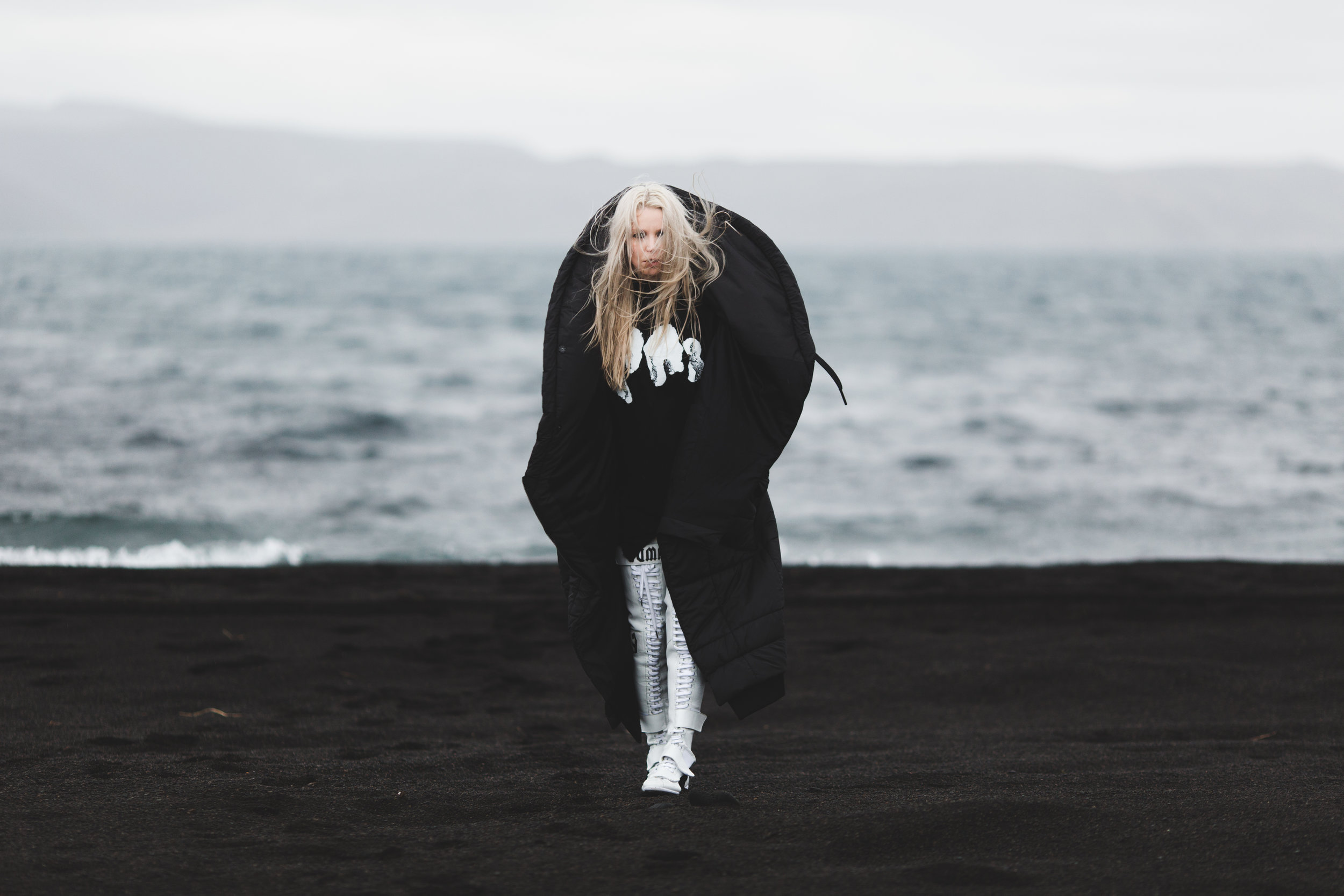Padded Coat:  BarbaraIGongini  | Top:  Damir Doma | Boots:  FentyXPuma