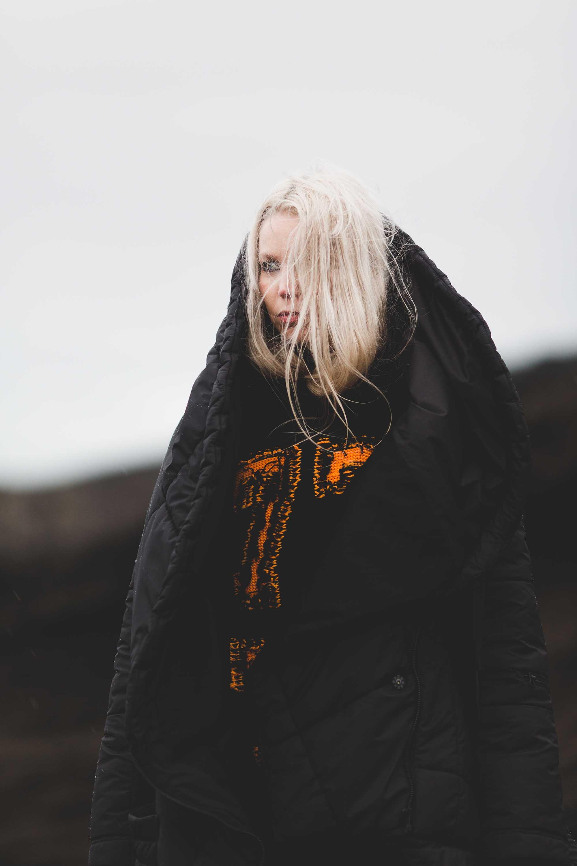 Coat:  BarbaraIGongini  | Sweater:  Palm Angels