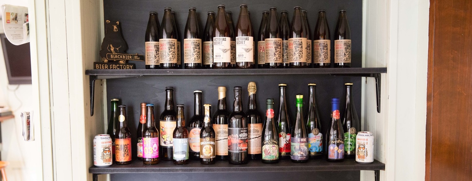 Explore one of the finest selection of craft beers in Zurich with regular updates and new arrivals.