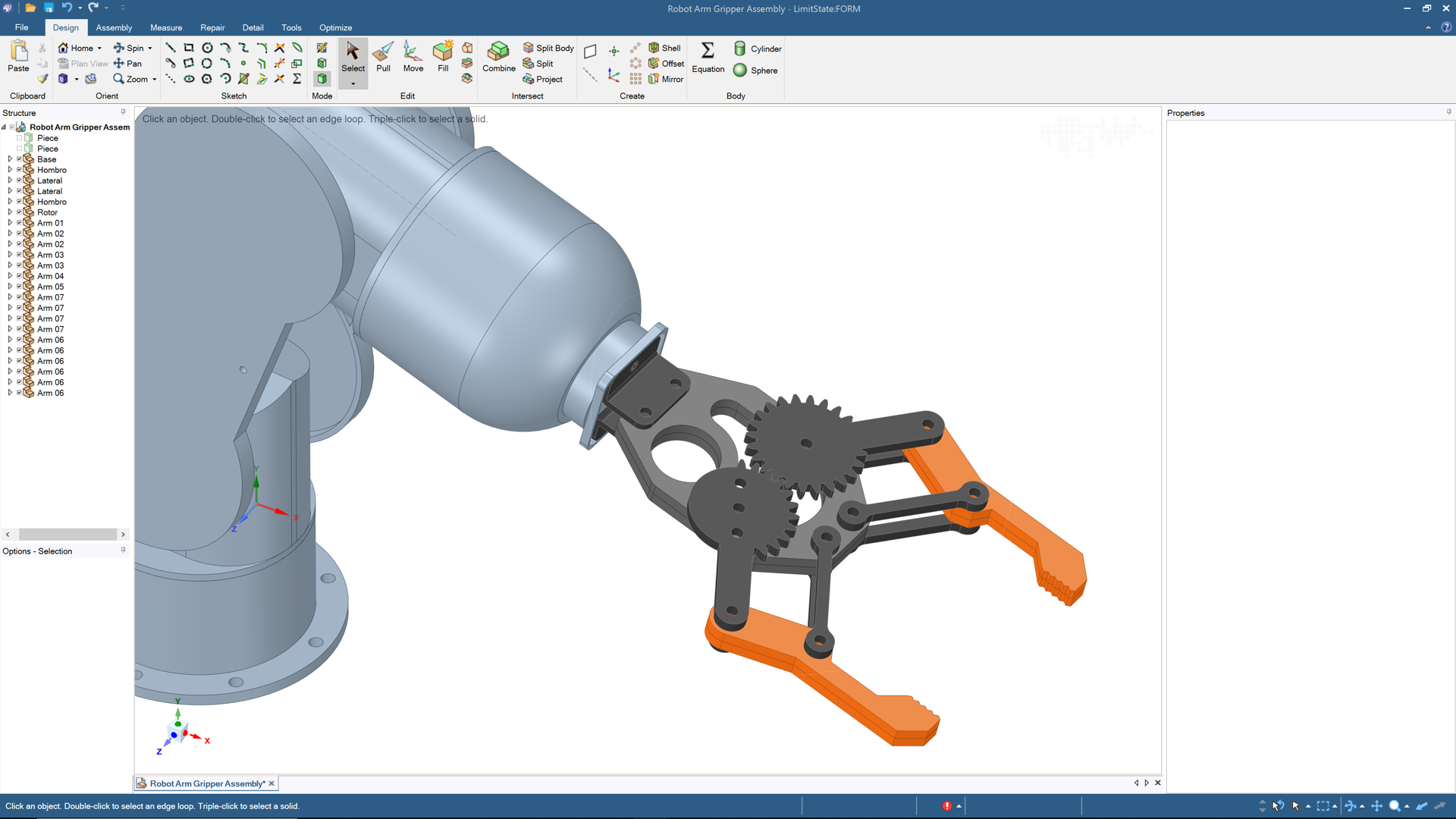 Case Study: Robot End of Arm Tool