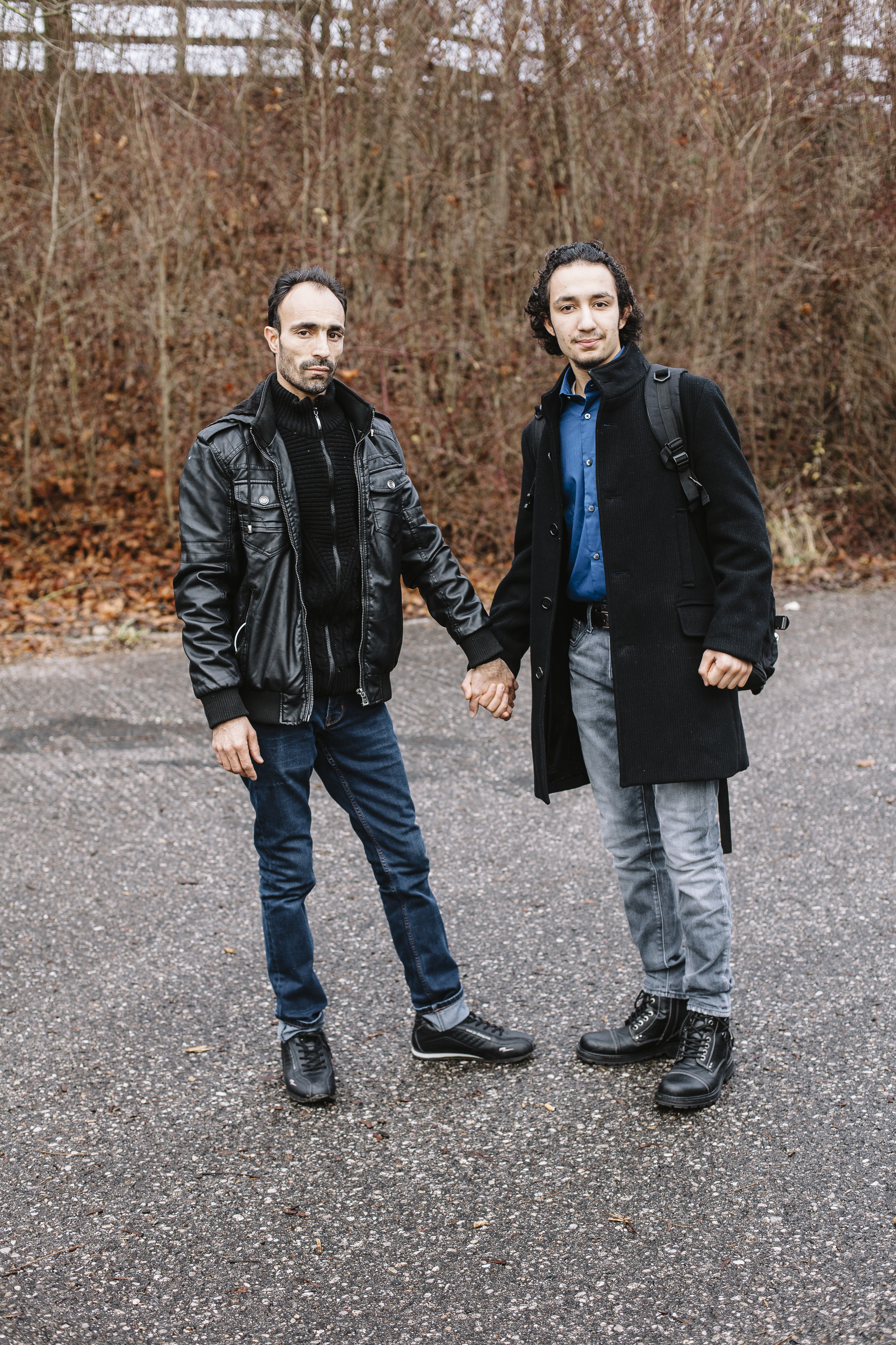 Ahmad mit seinem Vater / Ahmad with his father