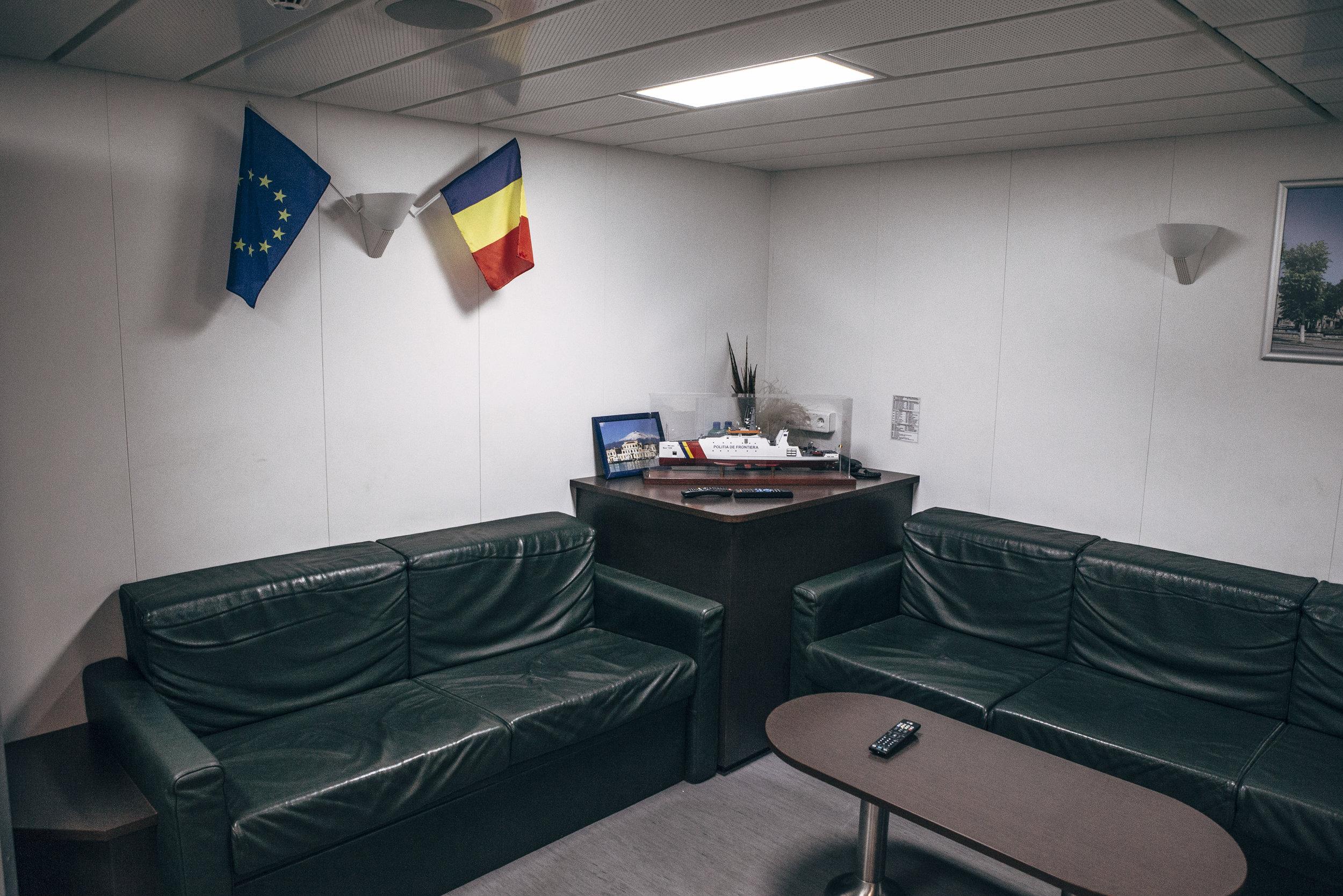 Aufenthaltsraum OPV (Offshore Patrol Vessel) 6610, Constanta
