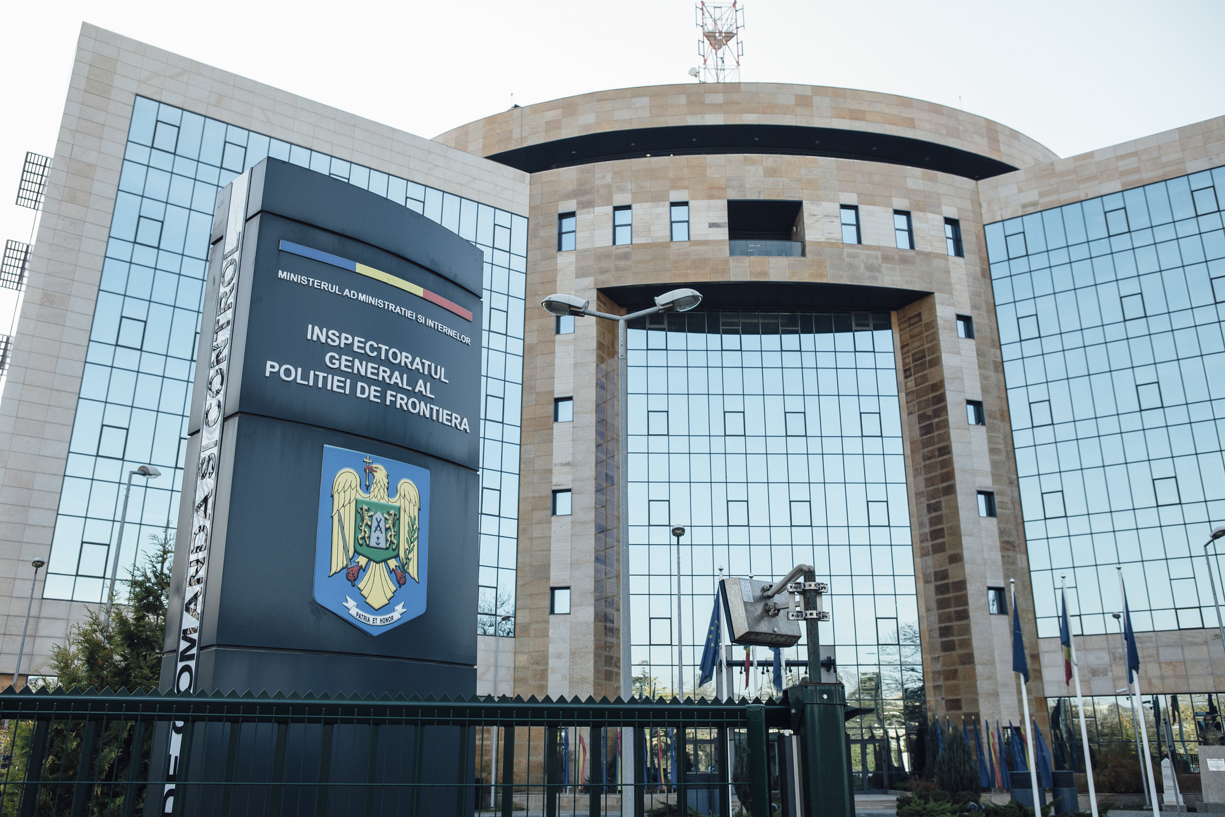Hauptquartier der Grenzpolizei Bukarest
