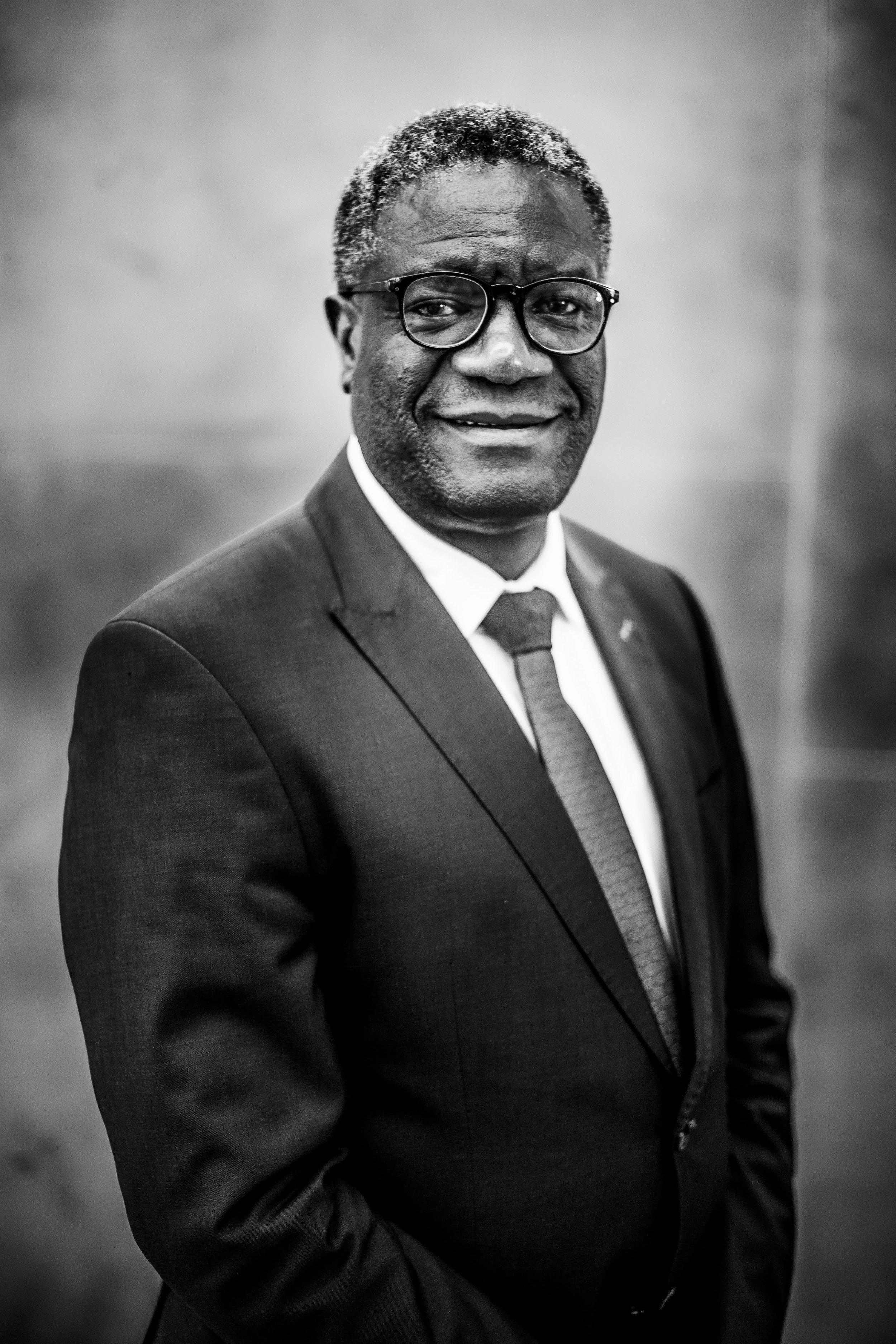 Denis Mukwege, Menschenrechtler und Friedensnobelpreisträger aus dem Jahr 2018