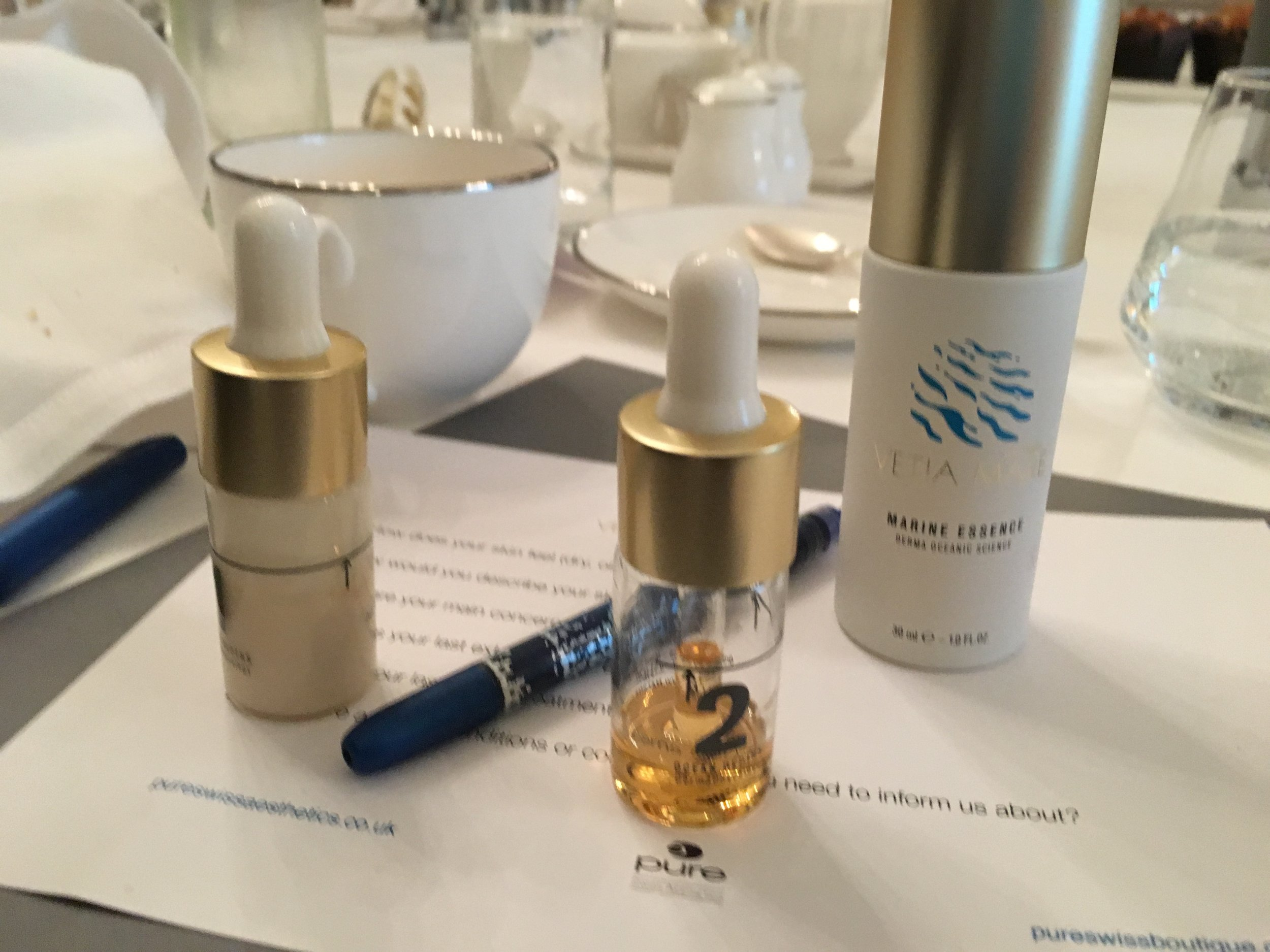 Marine superpowers: Vetia Mare products, for optimising skin that needs a reboot