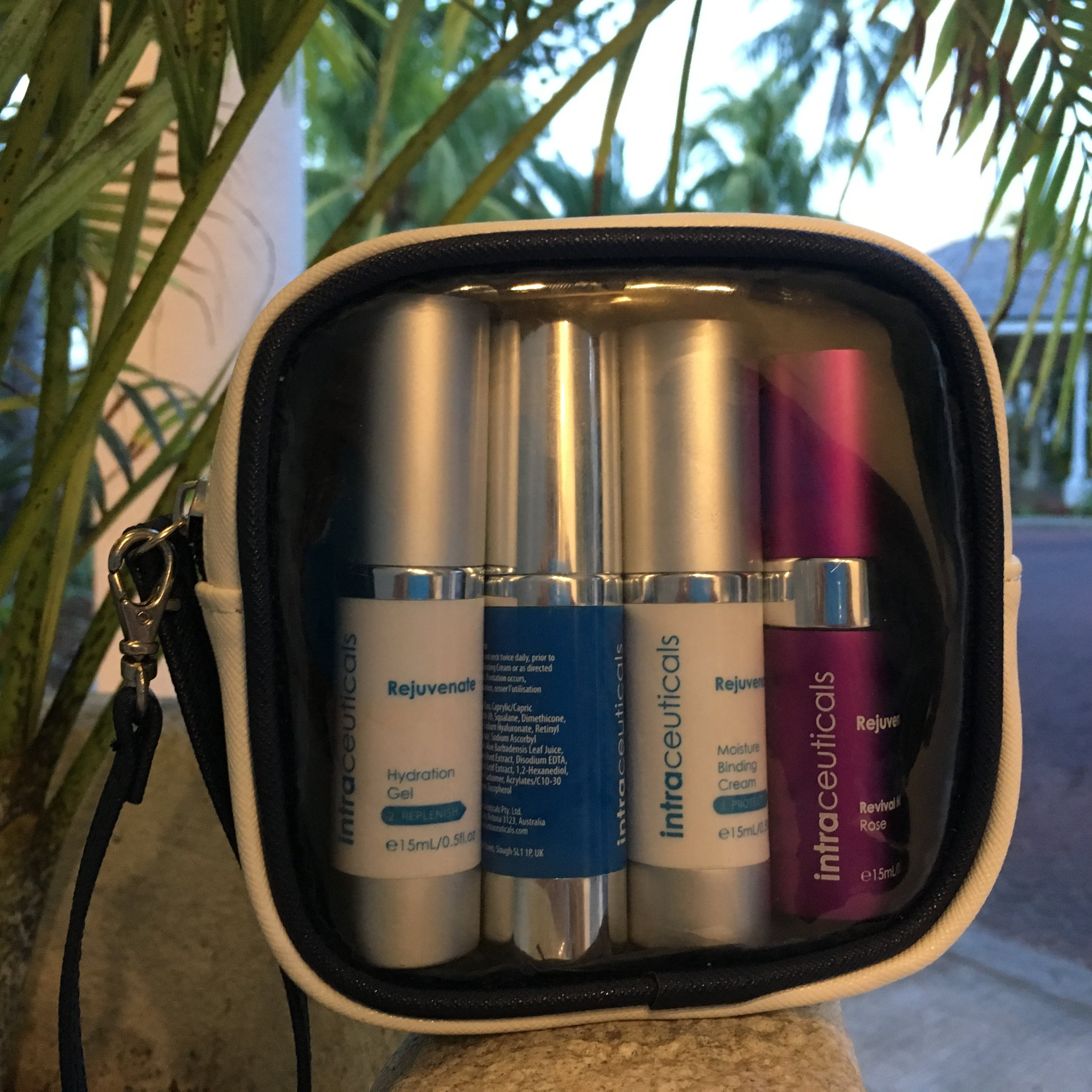 Handy travelling companion: intraceuticals