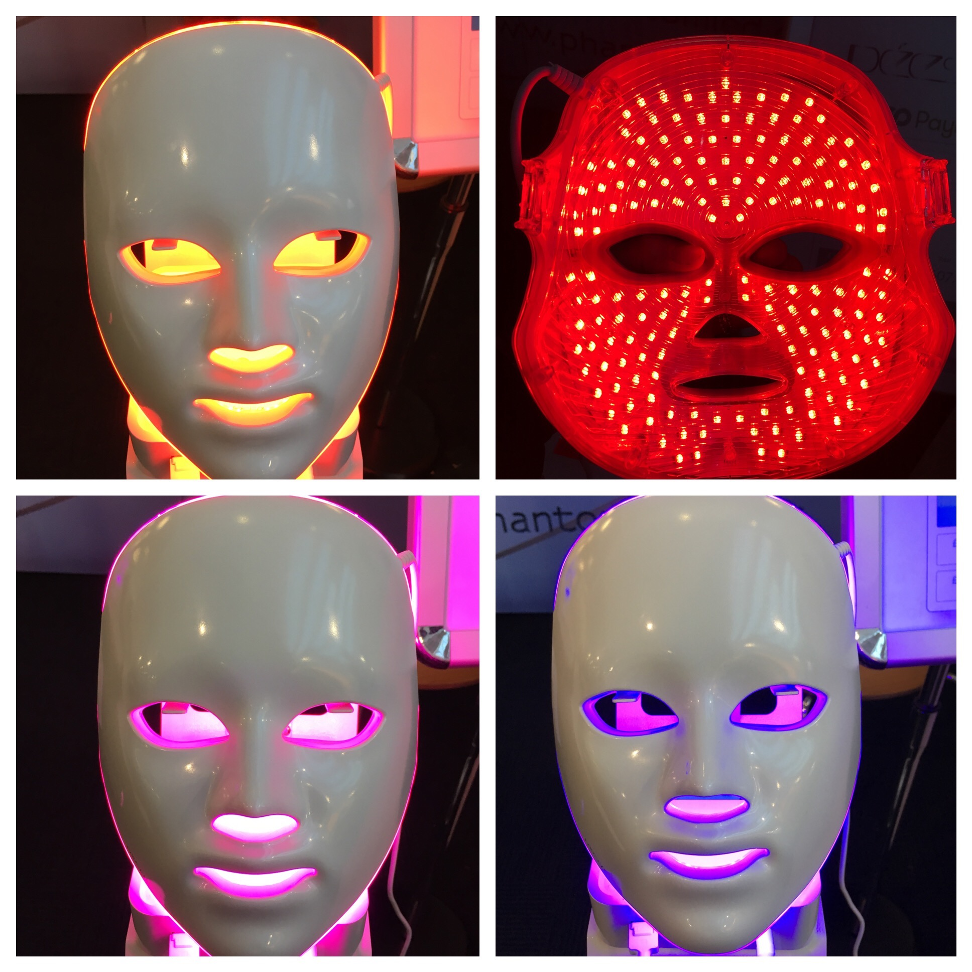 Get your glow on: the Deese LED light mask.