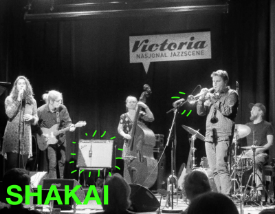Shakai er et bergensbasert band bestående av musikere med bakgrunn fra jazzlinja på Griegakademiet. Med elementer fra popmusikkens strukturer og deres individuelle improvisatoriske bakgrunner presenterer bandet låter i et åpent og lekent landskap.