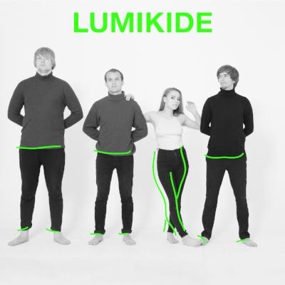 Med særegen, fengslende vokal, gitarstøy og varme synthlinjer svever kvartetten i Lumikide mellom spontane melodier og dynamiske låtstrukturer. Bandet jobber for tiden med sitt etterlengtede debutalbum som slippes tidlig neste år.