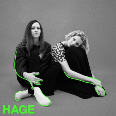 HAGE er en indiepop-duo fra Bergen. De spiller melodiøse låter basert på vokalharmonier, og drar publikum med seg inn i sine finurlige tekster om 'gutter og elendighet.'