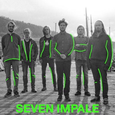 """Seven Impale er et progressivt jazzrockband som ble startet i Bergen, 2010. Bandet har siden den gang nådd et internasjonalt publikum bl.a. via debutalbumet """"City of the Sun""""."""