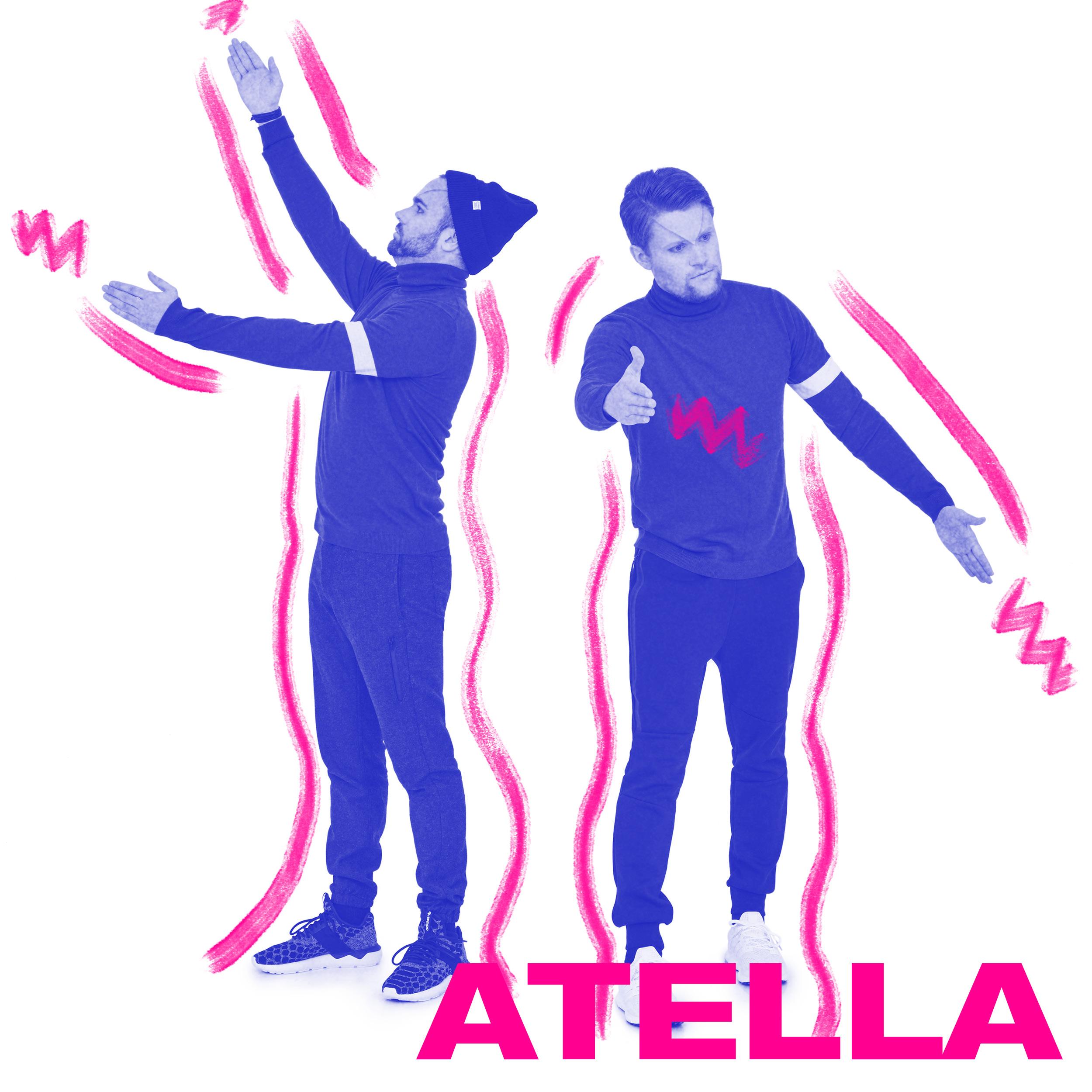 Atella er en elektronisk duo fra Norge. Deres eklektiske musikalitet danner en unik sound, enten det er atmosfærisk cosmo pop eller mer rytmisk klubbmusikk med innslag av disco, house, techno og synth wave.