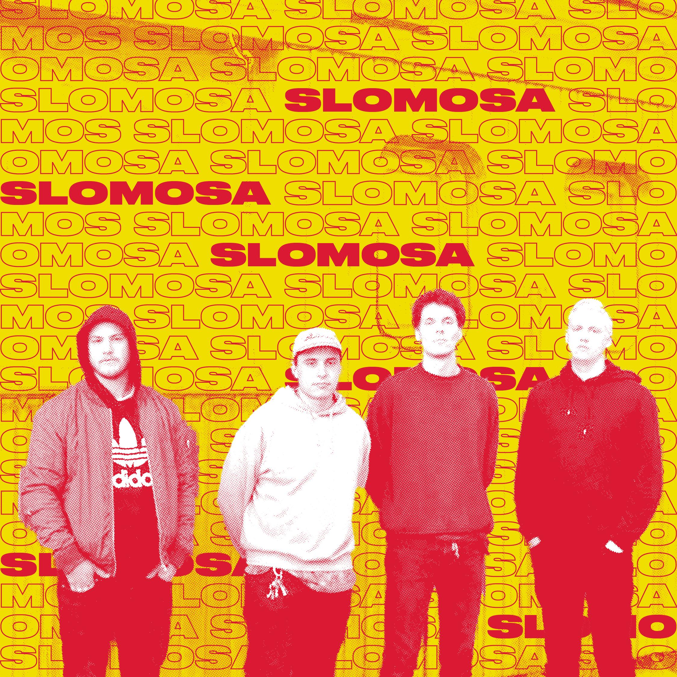 Slomosa spiller rock slik den ble spilt i ørkenen på den amerikanske vestkysten – mens seige riff over maniske trommerytmer syder gjennom de suggererende arrangementene, er låtene først og fremst låter, ikke endeløse og retningsløse jammer. En utsolgt debut konsert på Victoria i Bergen og en vellykket demo på Soundcloud skaffet bandet oppmerksomhet. Siden det har bandet ikke ligget på latsiden. Nye låter er på vei, og arbeidet med debutalbumet er godt i gang.