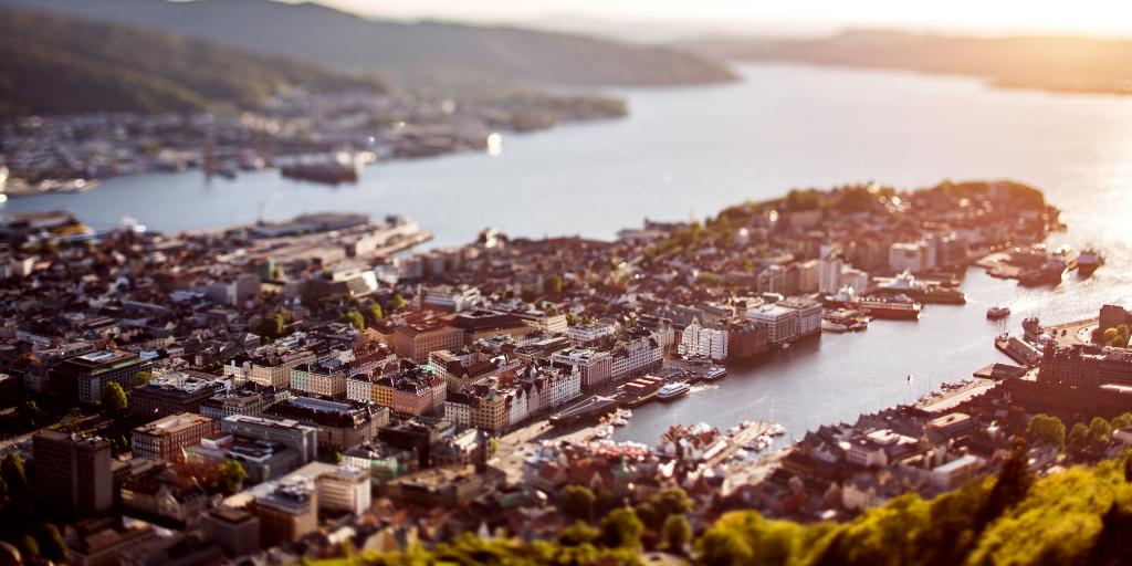 Bergen city / Vågen