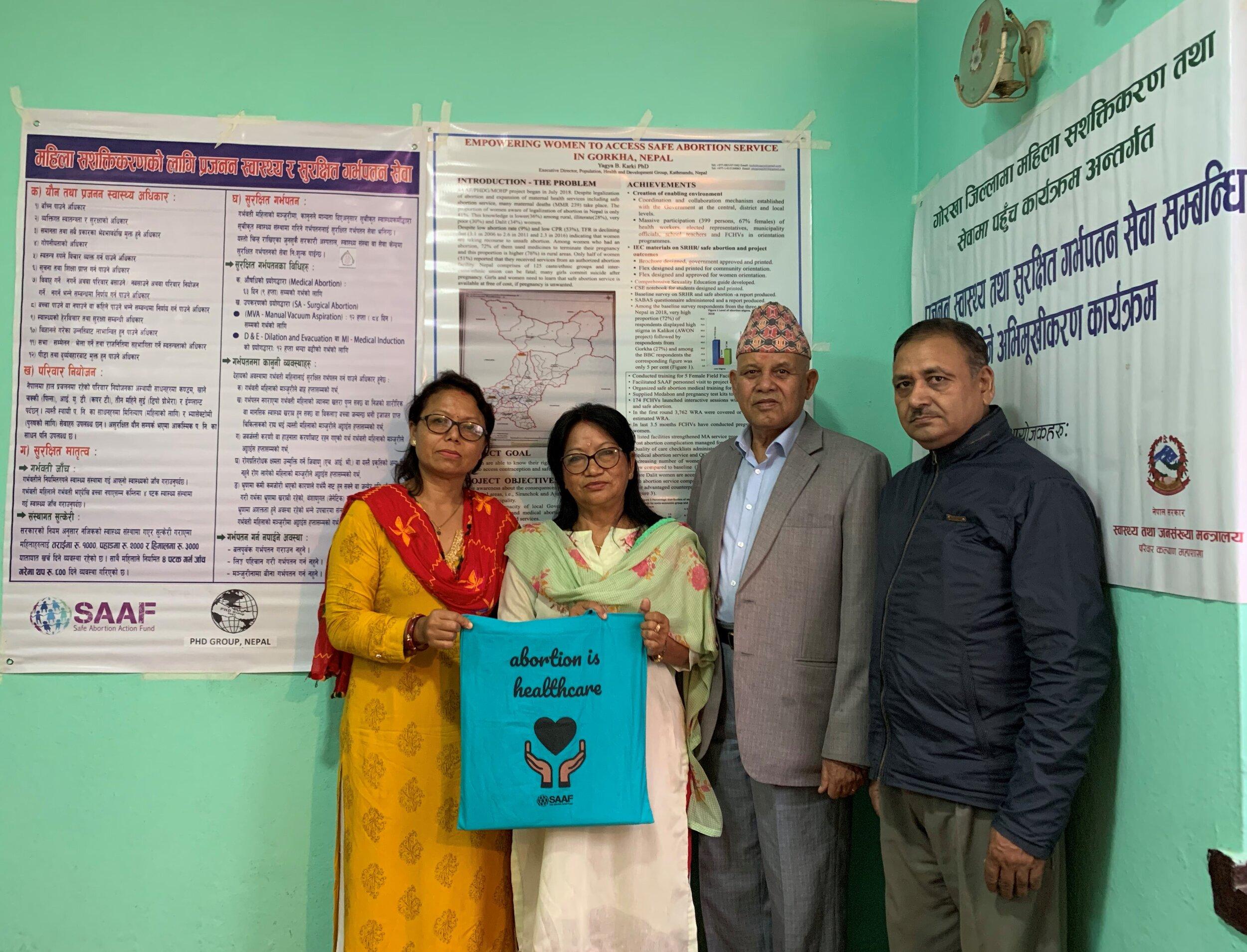 PHD Group - Nepal