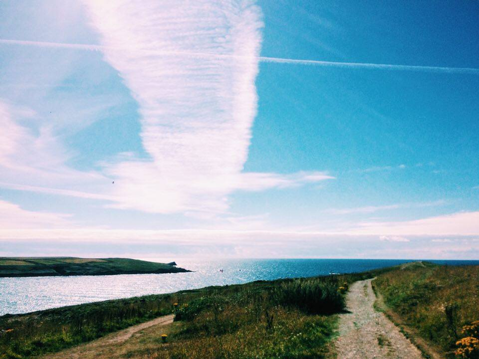 THE VIEW FROM TODAY'S RUN.. SPECTACULAR TO SAY THE LEAST  ♥